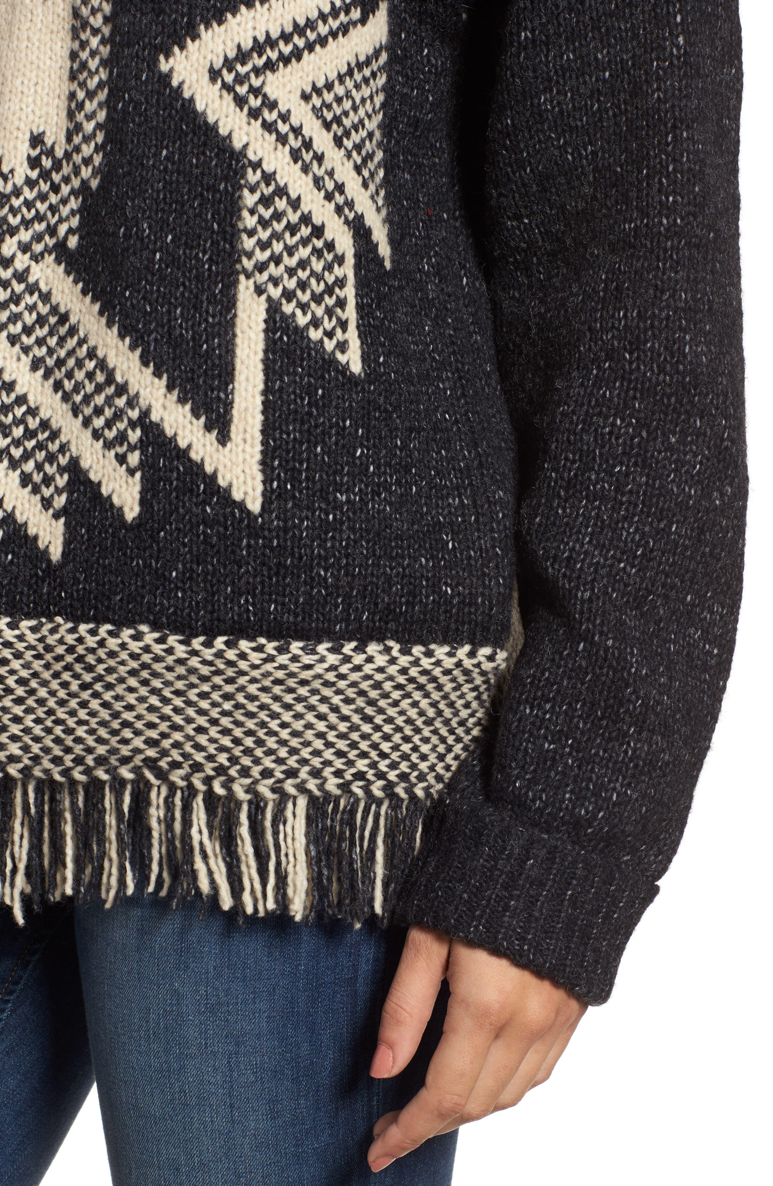 Fringe Sweater,                             Alternate thumbnail 13, color,