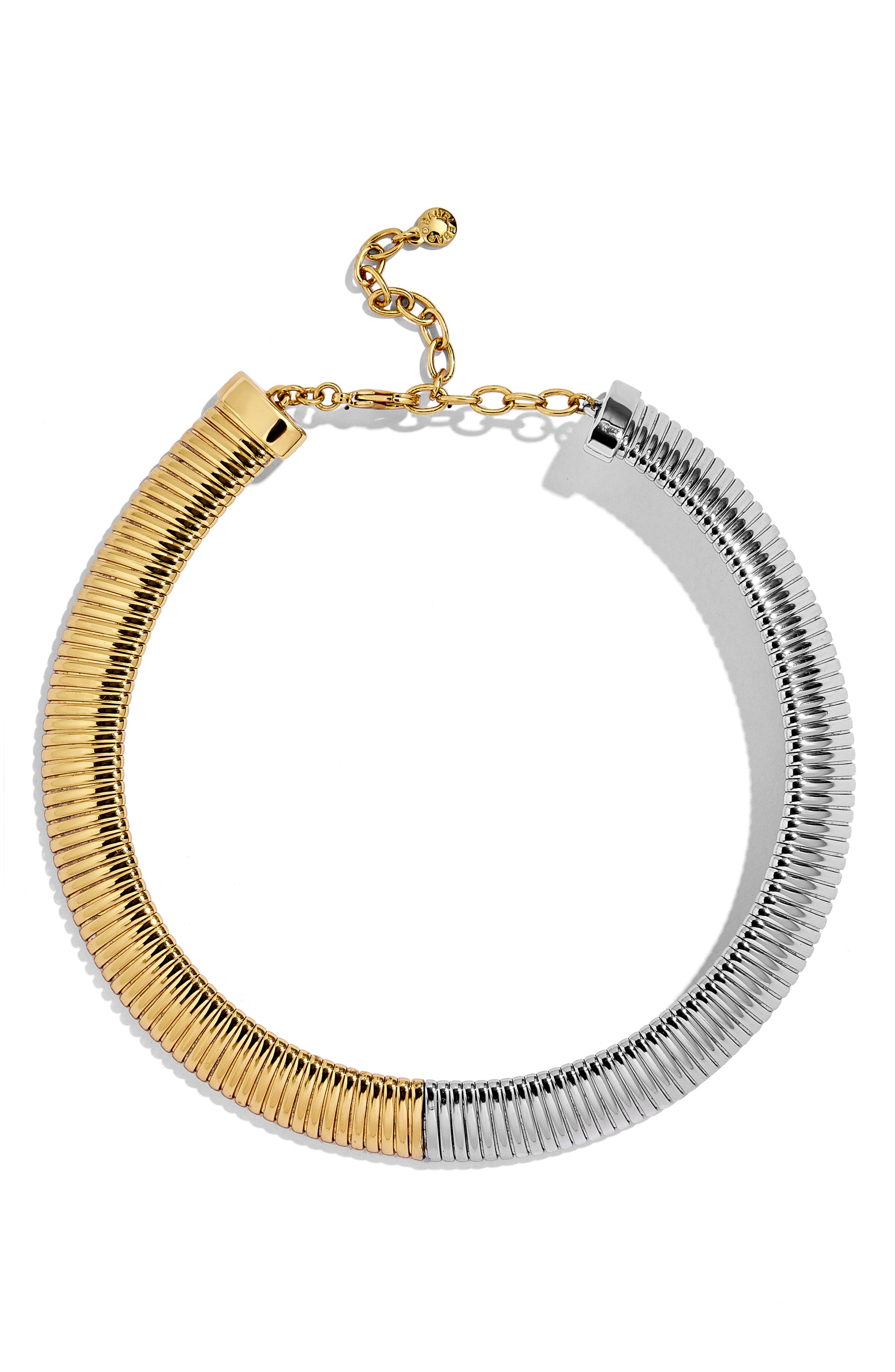 Imperia Statement Necklace,                         Main,                         color, GOLD/ SILVER