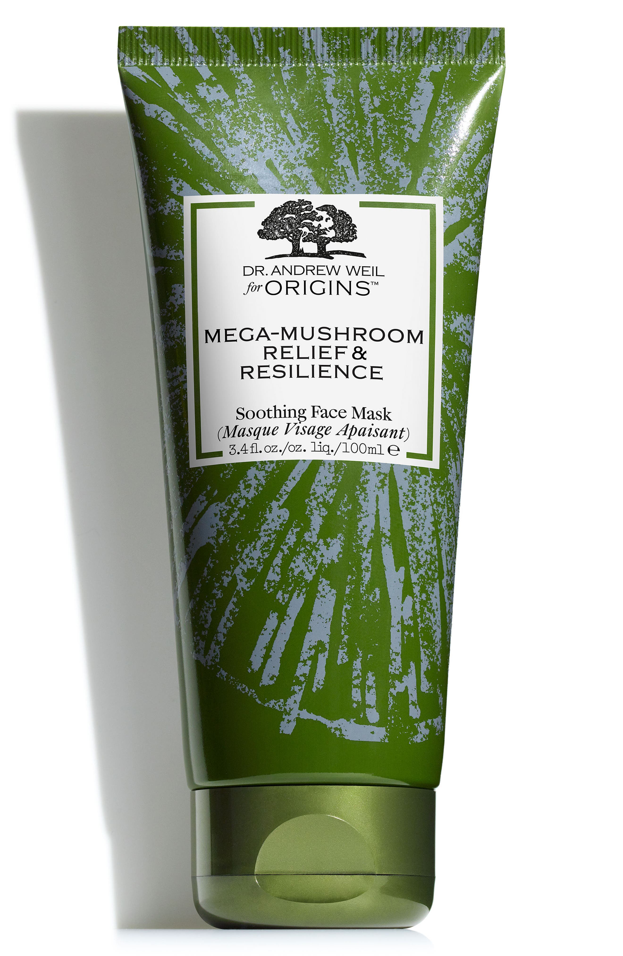 Dr. Andrew Weil for Origins<sup>™</sup> Mega-Mushroom Relief & Resilience Soothing Face Mask,                         Main,                         color, NO COLOR