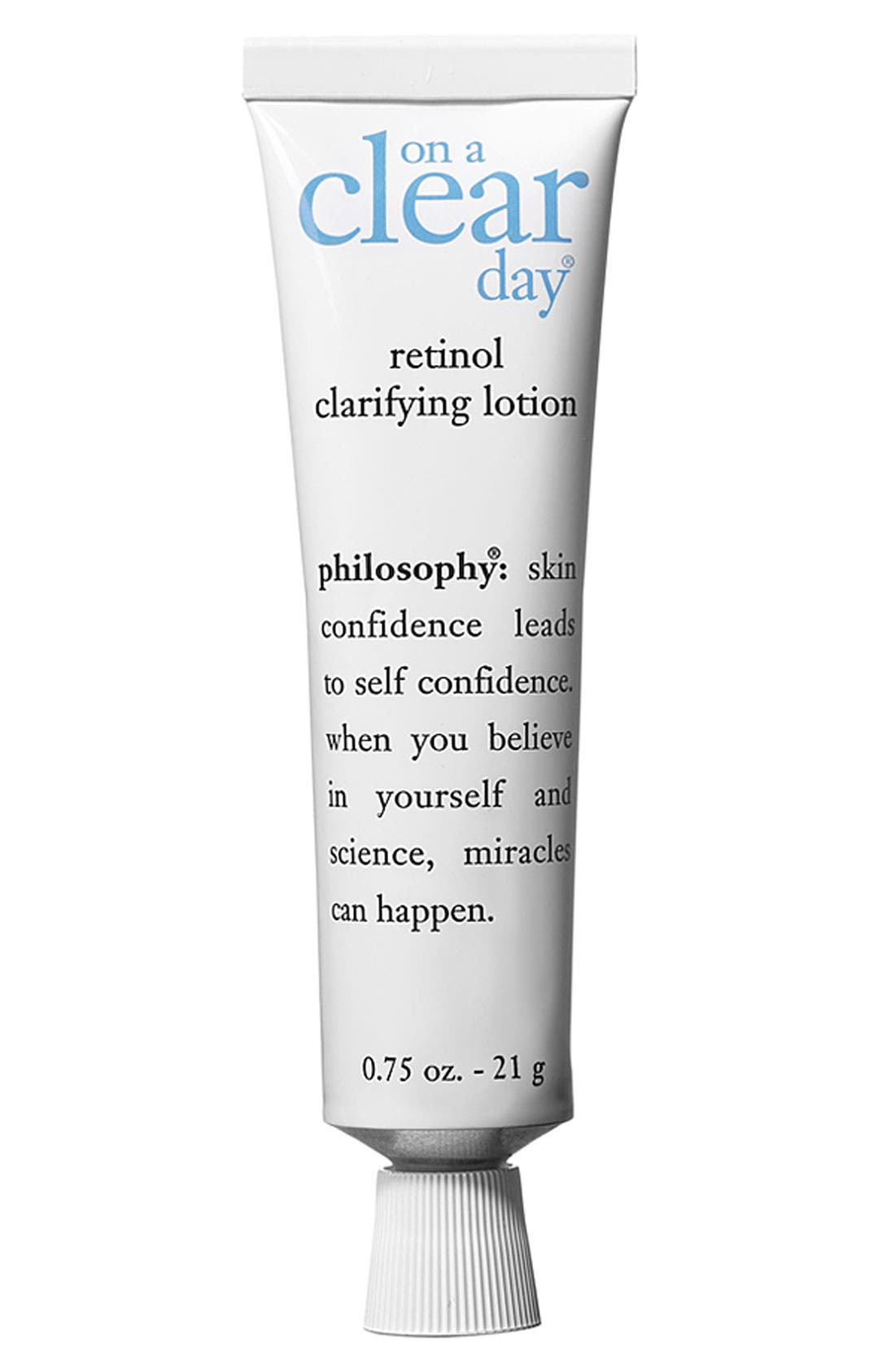 'on a clear day' retinol clarifying lotion, Main, color, 000