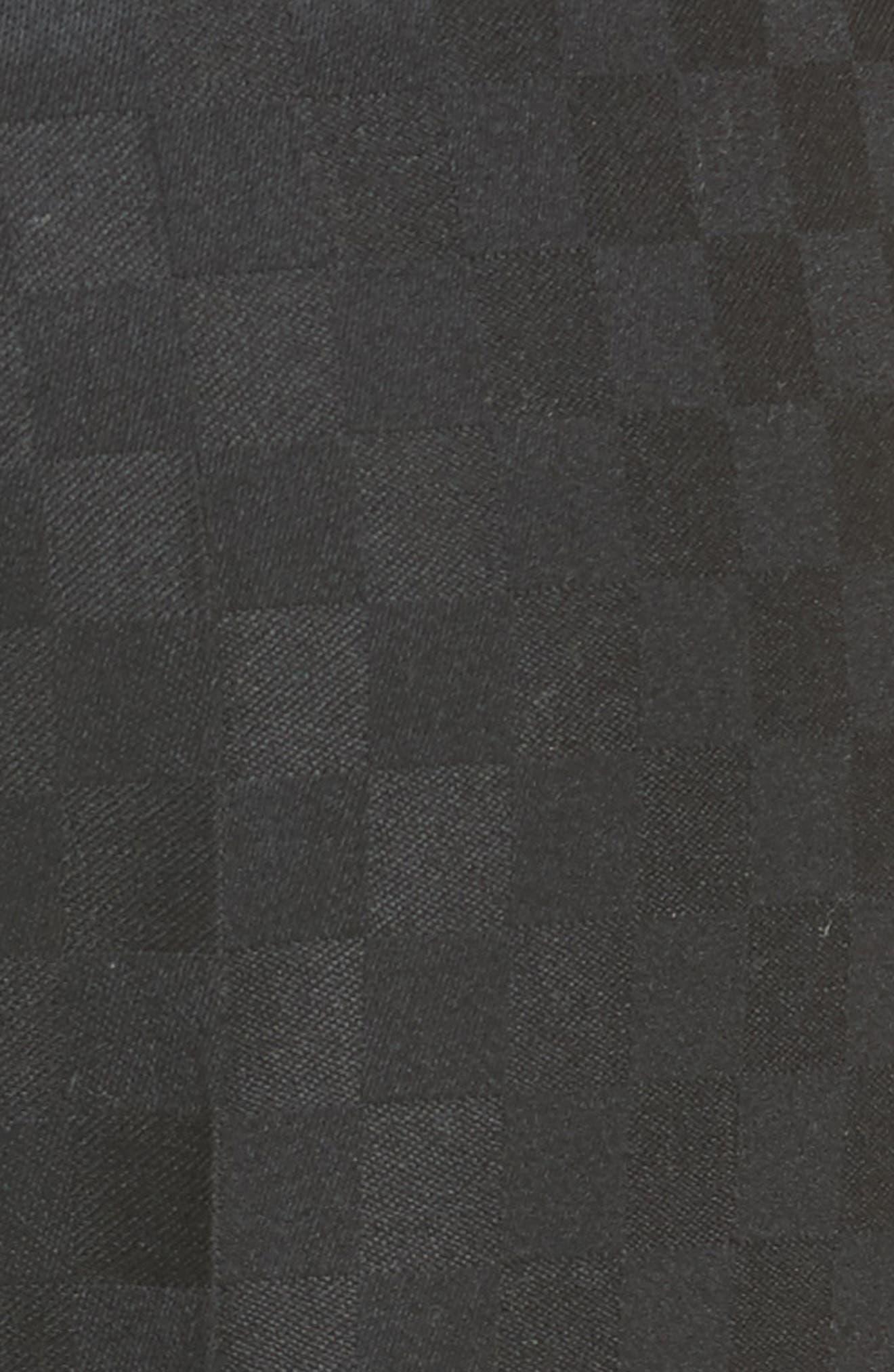Chain Trim Checkerboard Pants,                             Alternate thumbnail 5, color,                             001