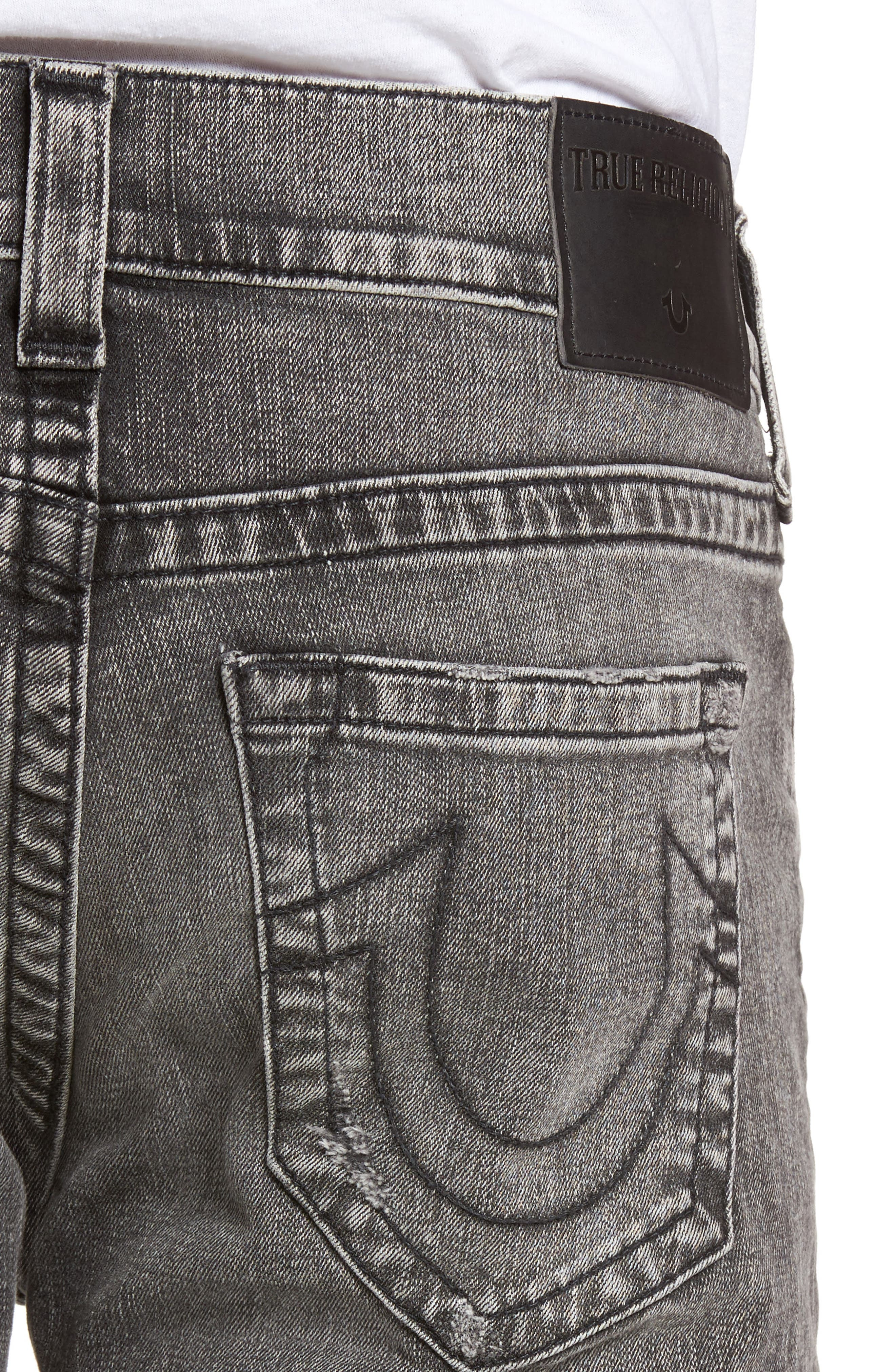 Rocco Skinny Fit Jeans,                             Alternate thumbnail 4, color,