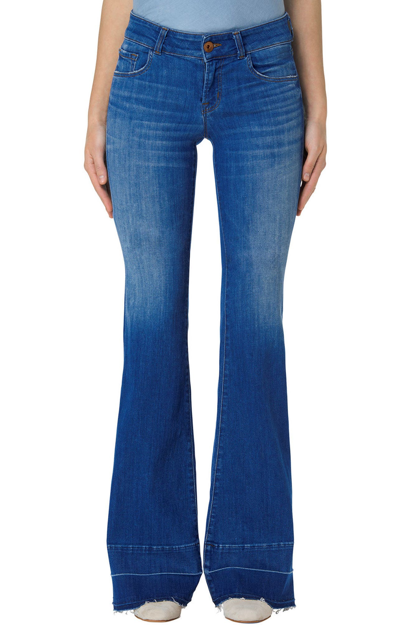 Love Story Flare Jeans,                             Main thumbnail 1, color,                             429