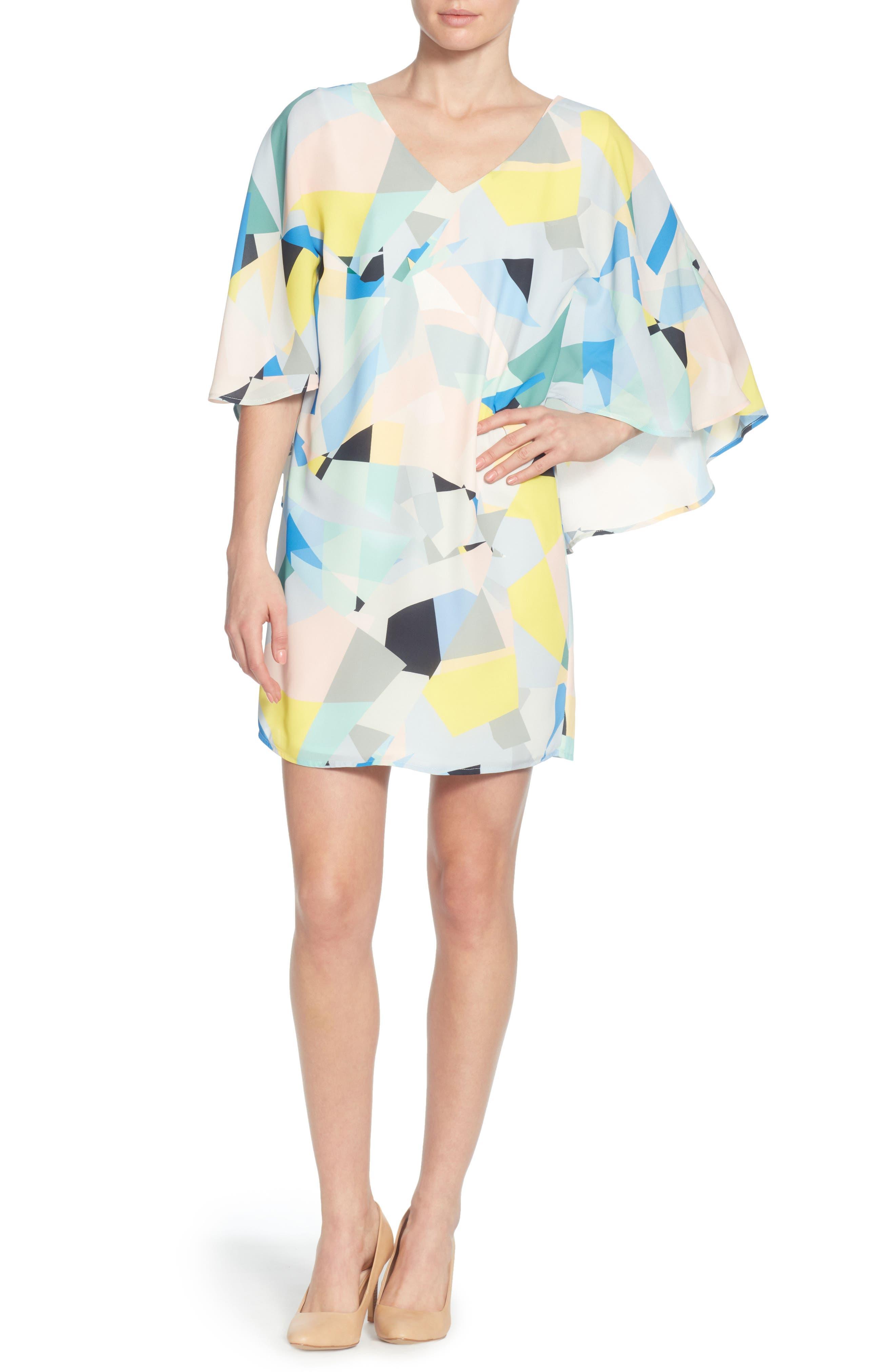 Violette Dress,                             Main thumbnail 1, color,                             BROKEN GLASS