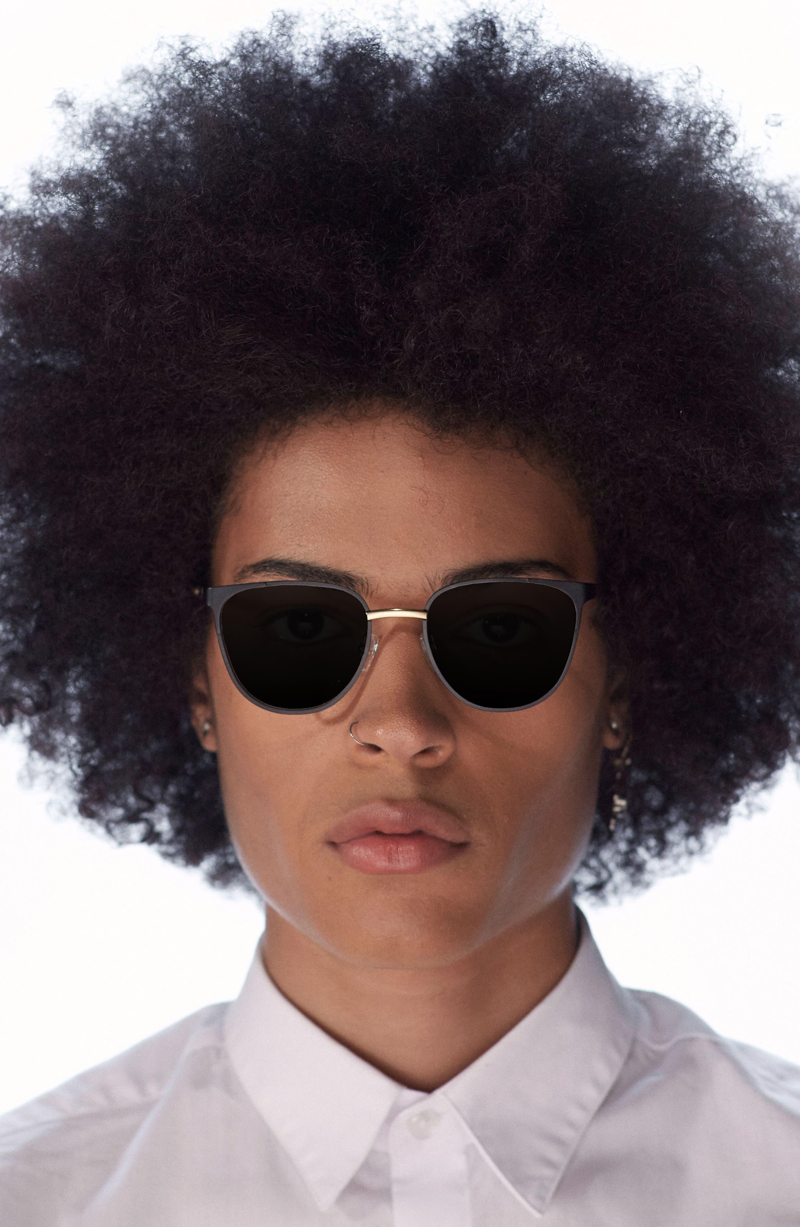 Money 51mm Sunglasses,                             Alternate thumbnail 3, color,                             001