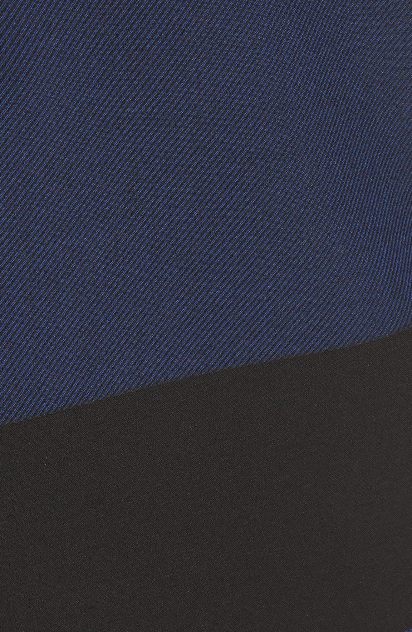 Hermely Stripe Sheath Dress,                             Alternate thumbnail 5, color,                             400
