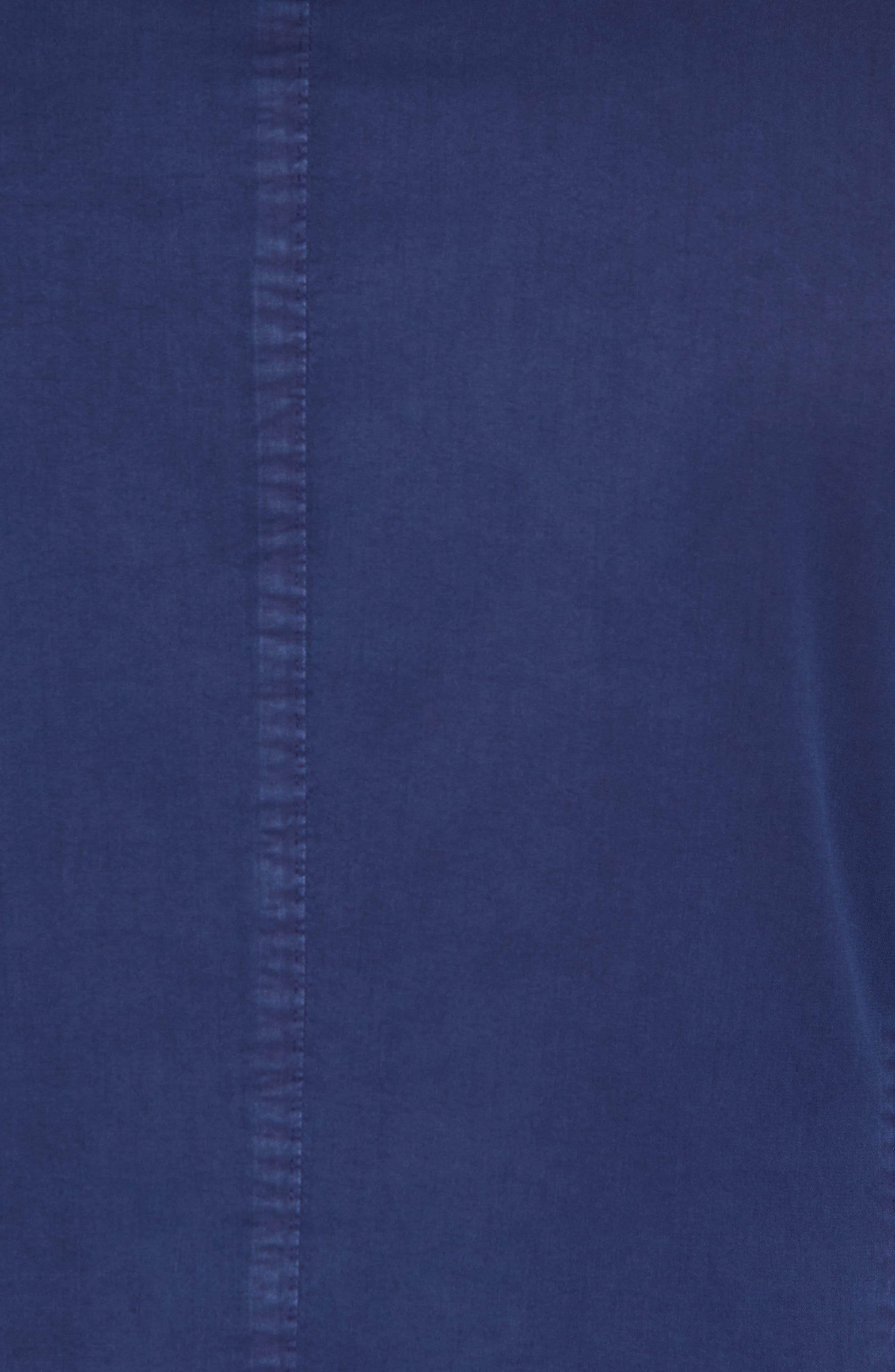 Classic Fit Cotton & Silk Blazer,                             Alternate thumbnail 6, color,                             410