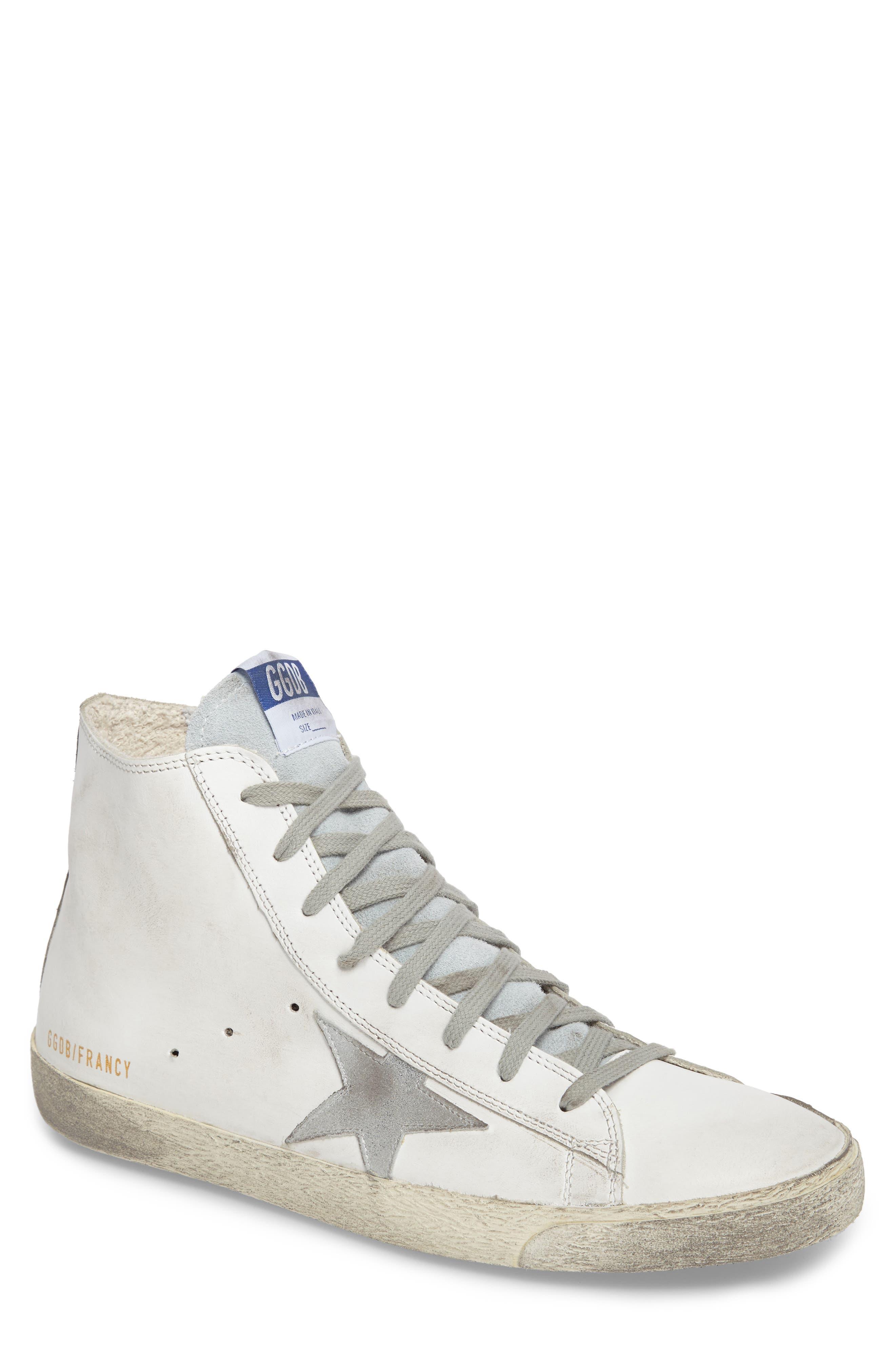 Francy High Top Sneaker,                         Main,                         color, 100