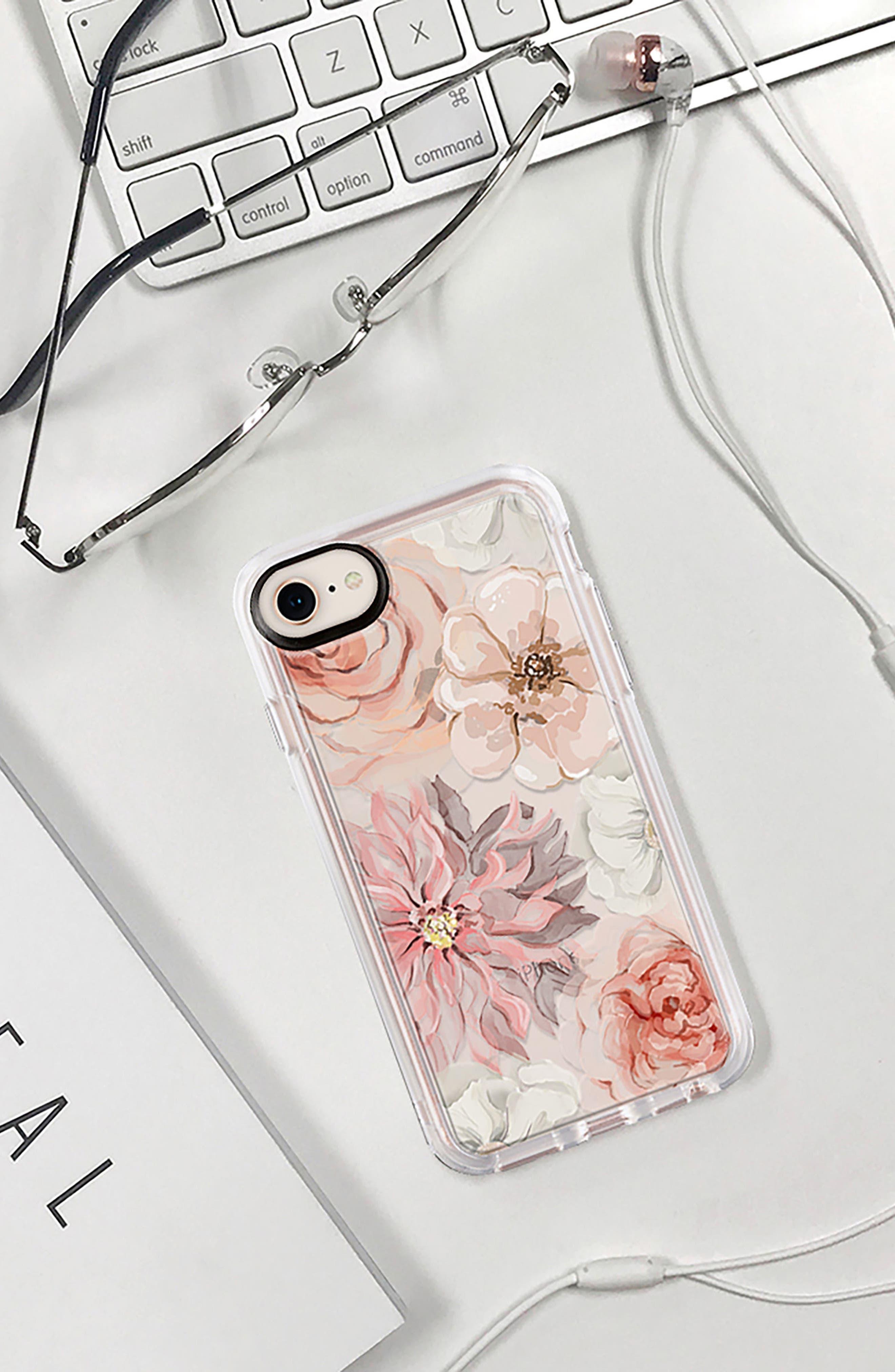Pretty Blush iPhone 7/8 & 7/8 Plus Case,                             Alternate thumbnail 8, color,                             BLUSH PINK