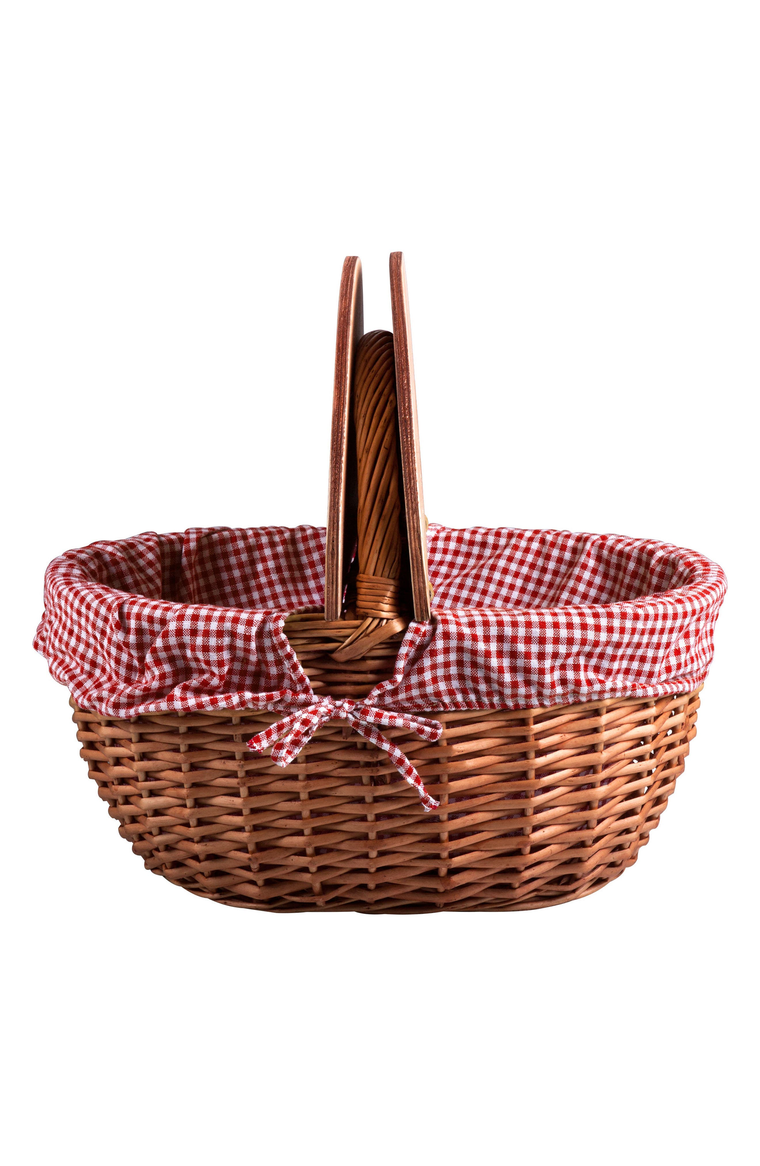 Country Wicker Picnic Basket,                             Alternate thumbnail 2, color,                             200