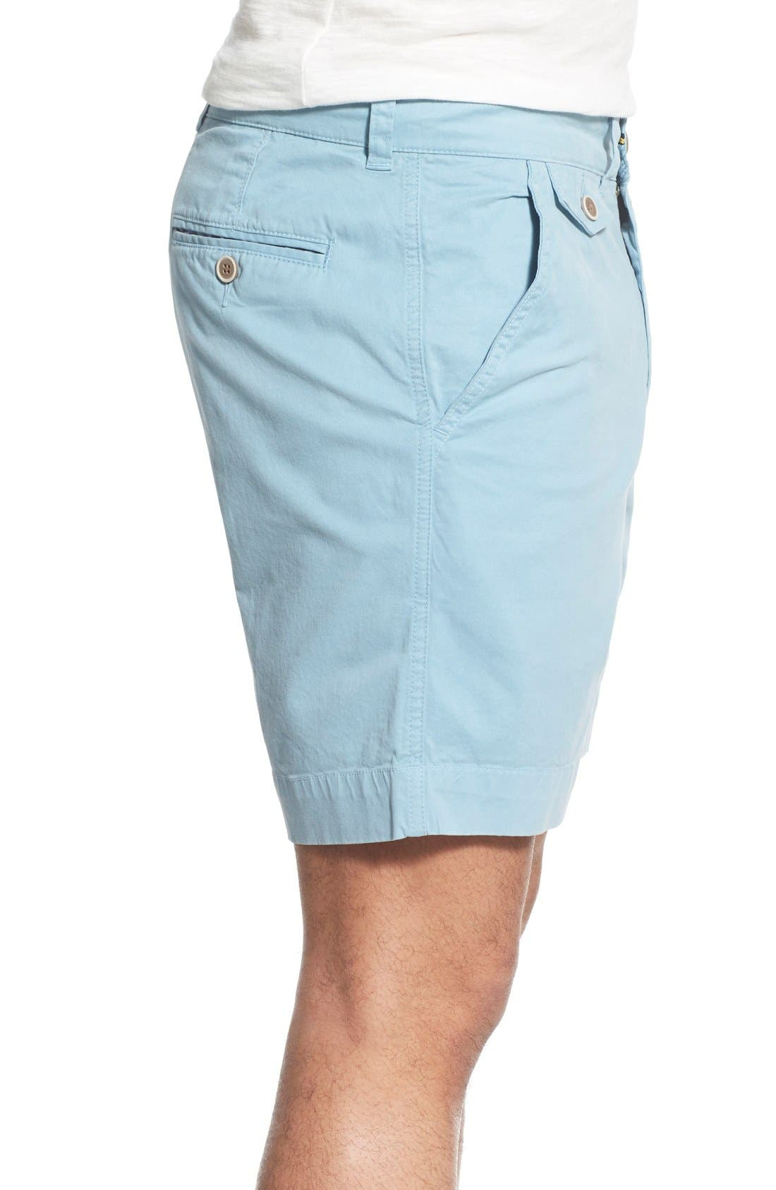 'Sunny' Stretch Twill Chino Shorts,                             Alternate thumbnail 19, color,
