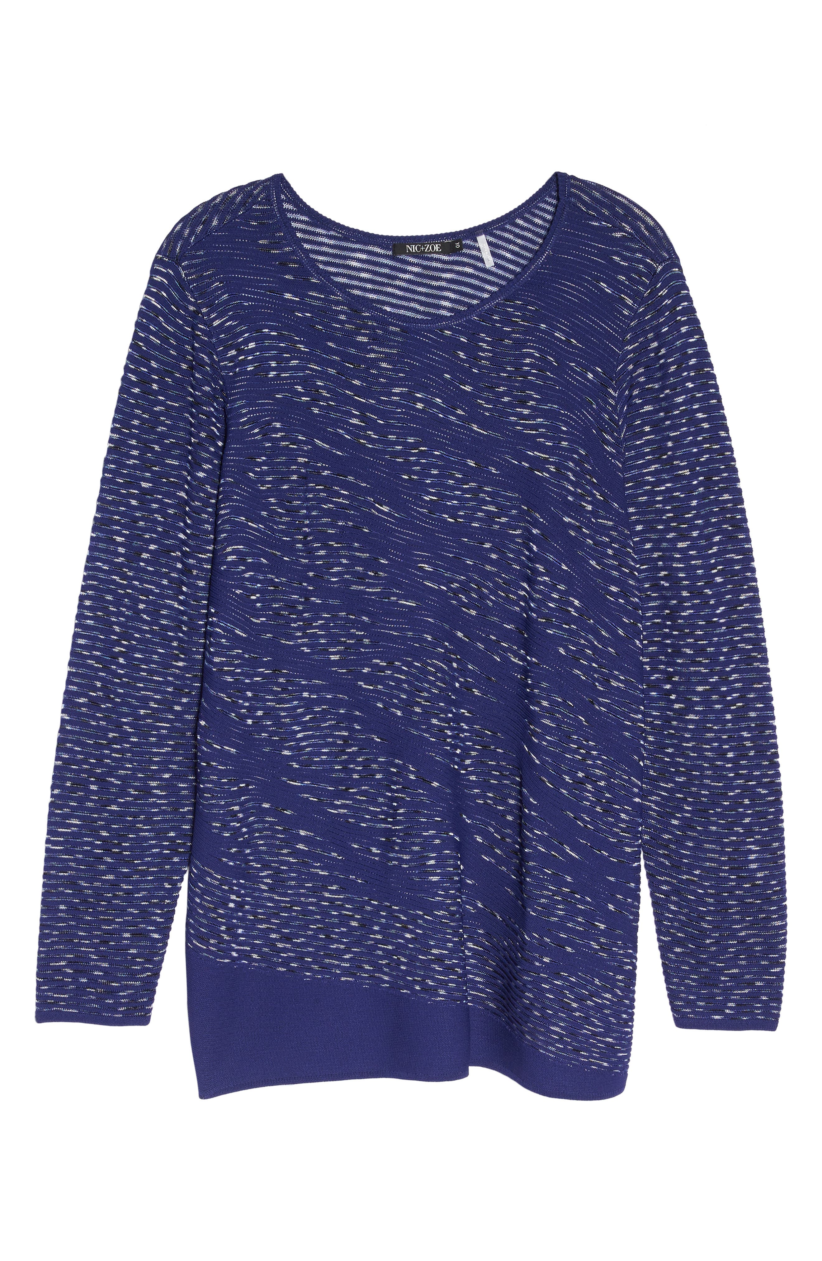 This Is Living Knit Top,                             Alternate thumbnail 6, color,                             ELECTRIC BLUE
