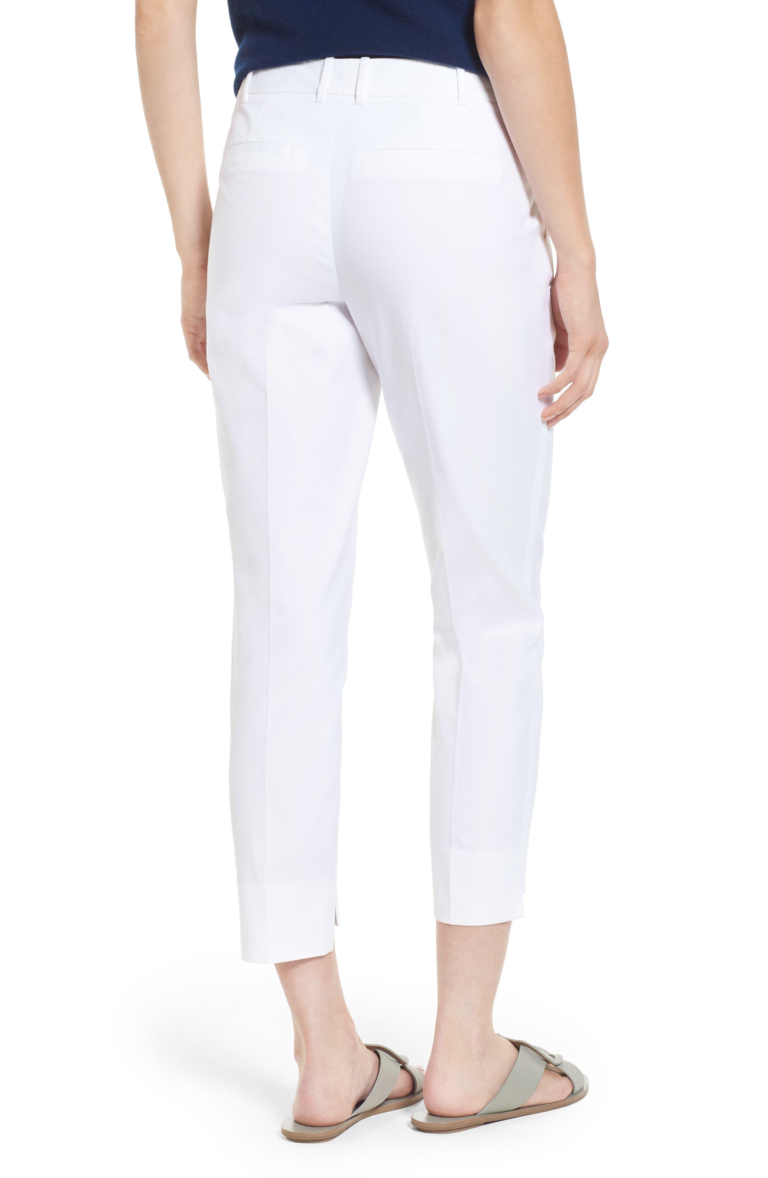 High/Low Crop Pants,                             Alternate thumbnail 3, color,