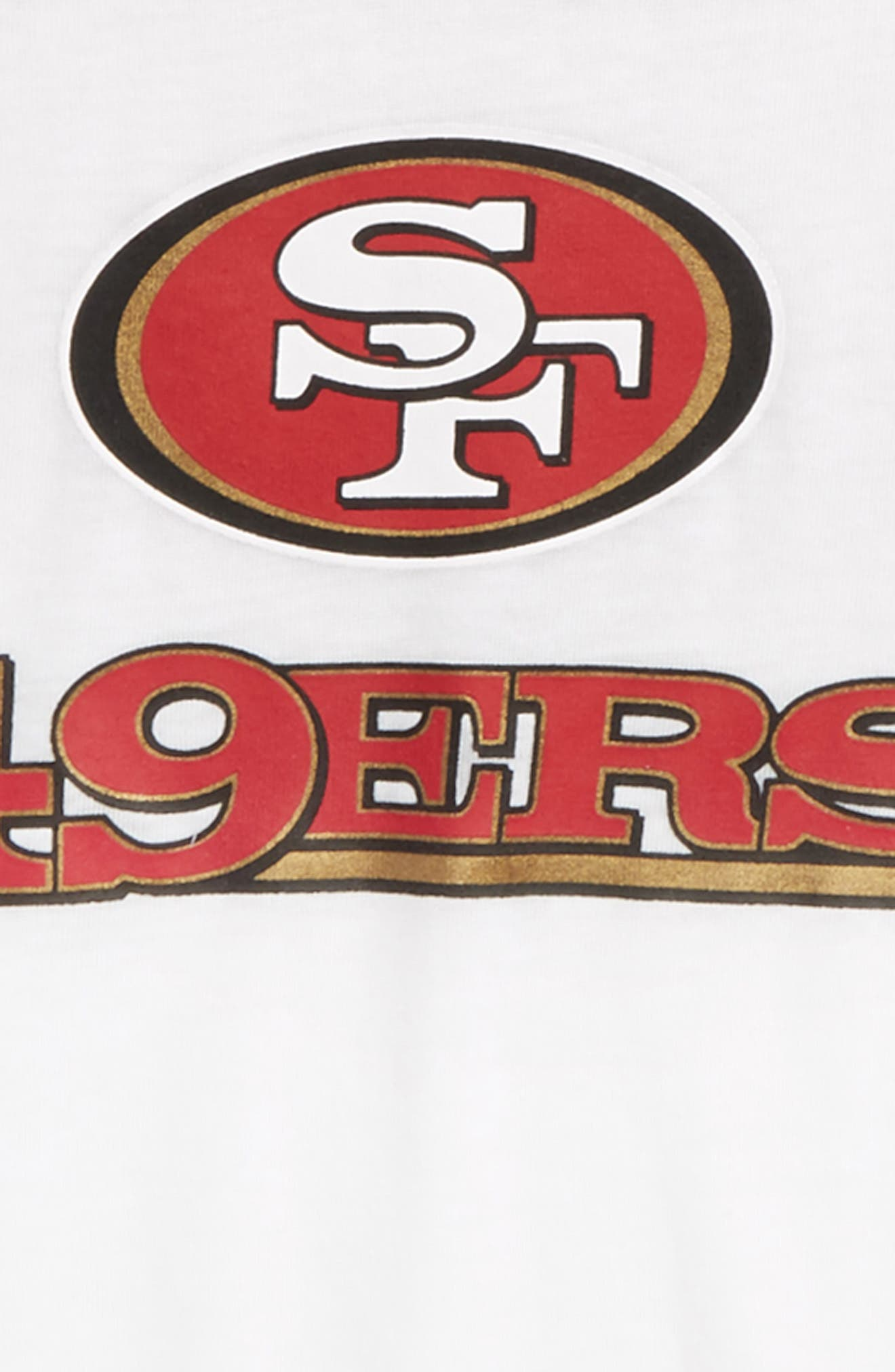 NFL San Francisco 49ers Team Pride Tee,                             Alternate thumbnail 2, color,