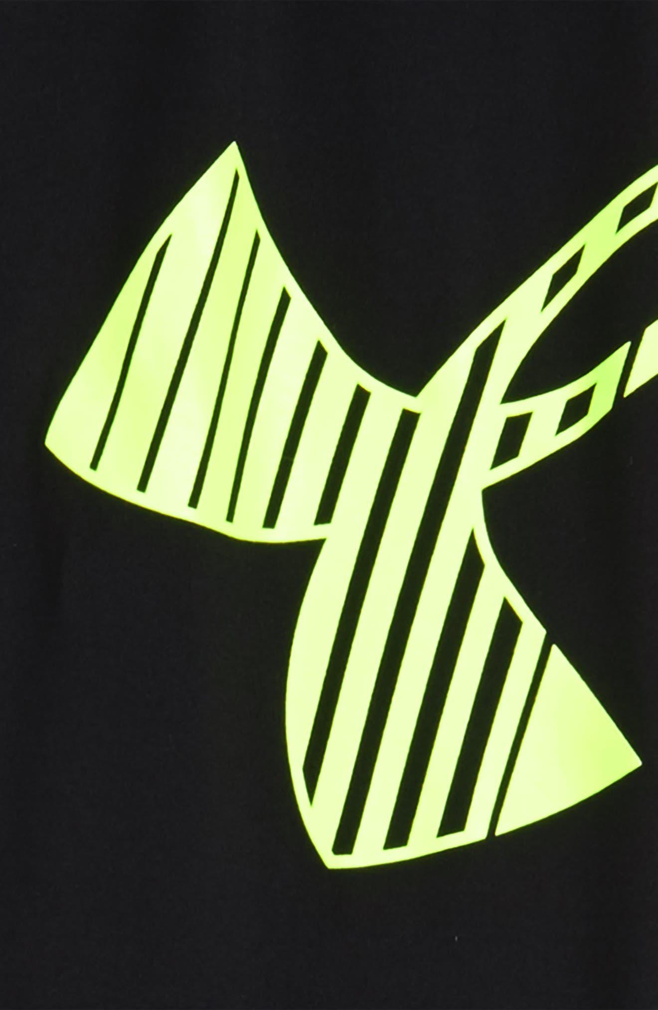 Logo HeatGear<sup>®</sup> 3/4 Leggings,                             Main thumbnail 5, color,
