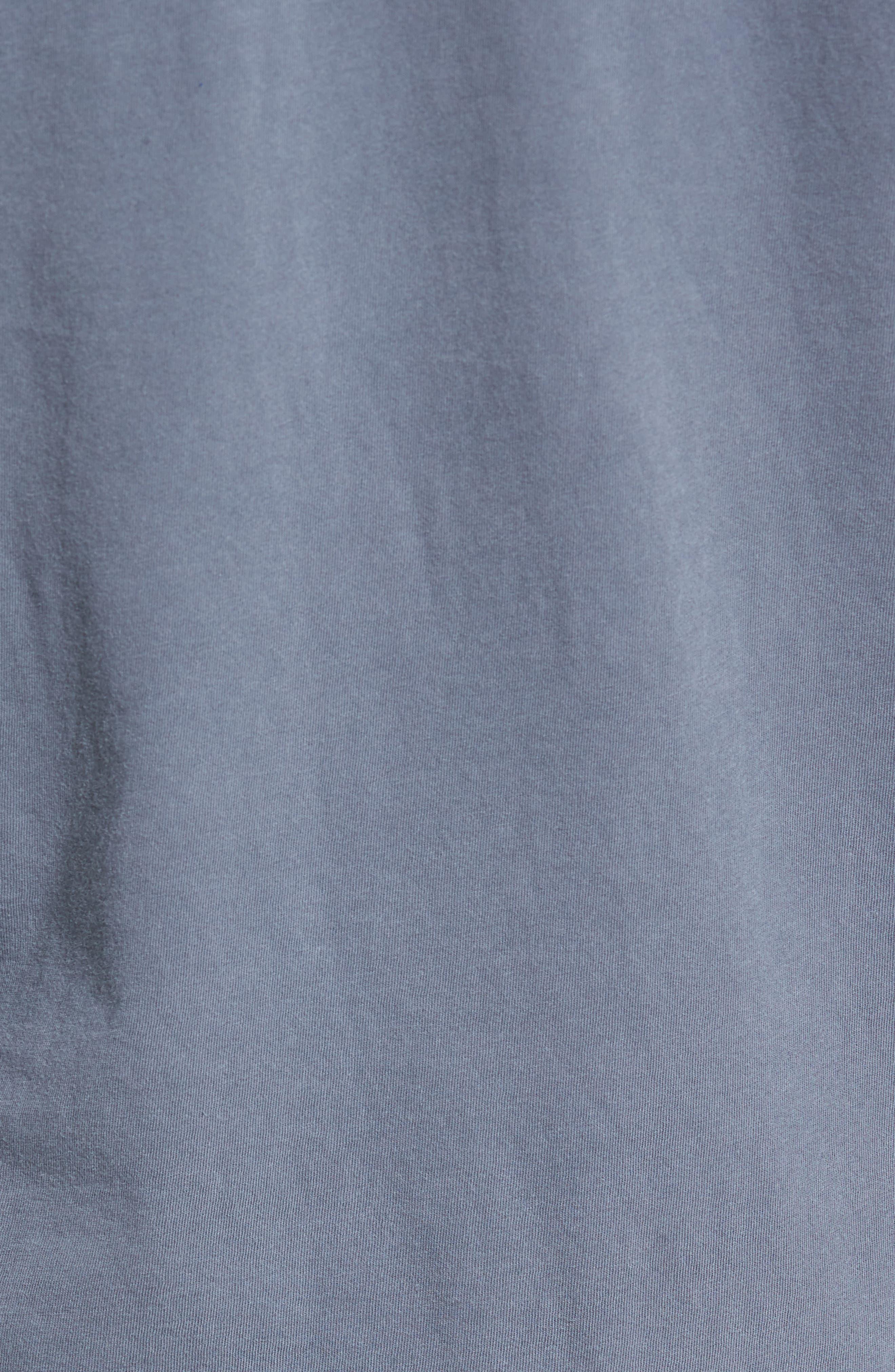 Long Sleeve Crewneck T-Shirt,                             Alternate thumbnail 5, color,                             NORTH PIGMENT GREY