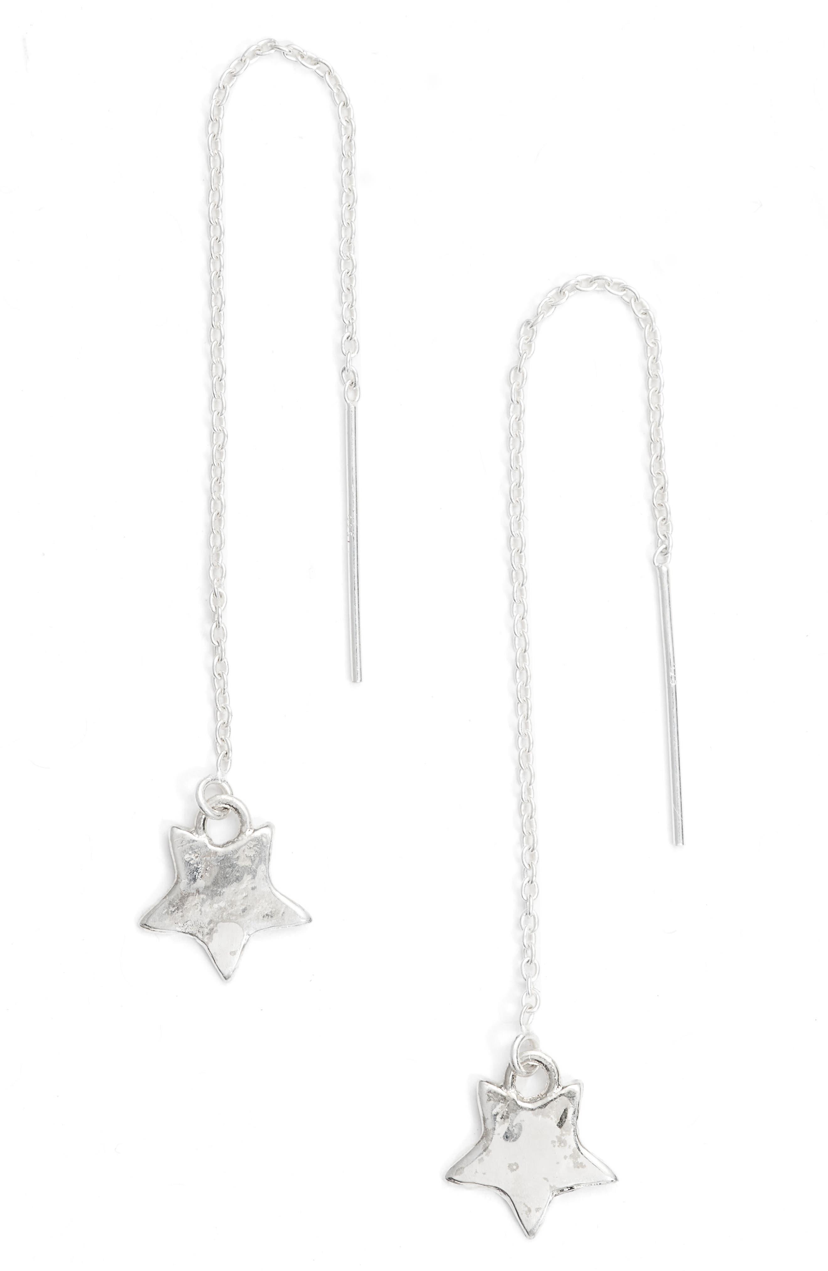BRITT BOLTON Star Drop Earrings, Main, color, 040