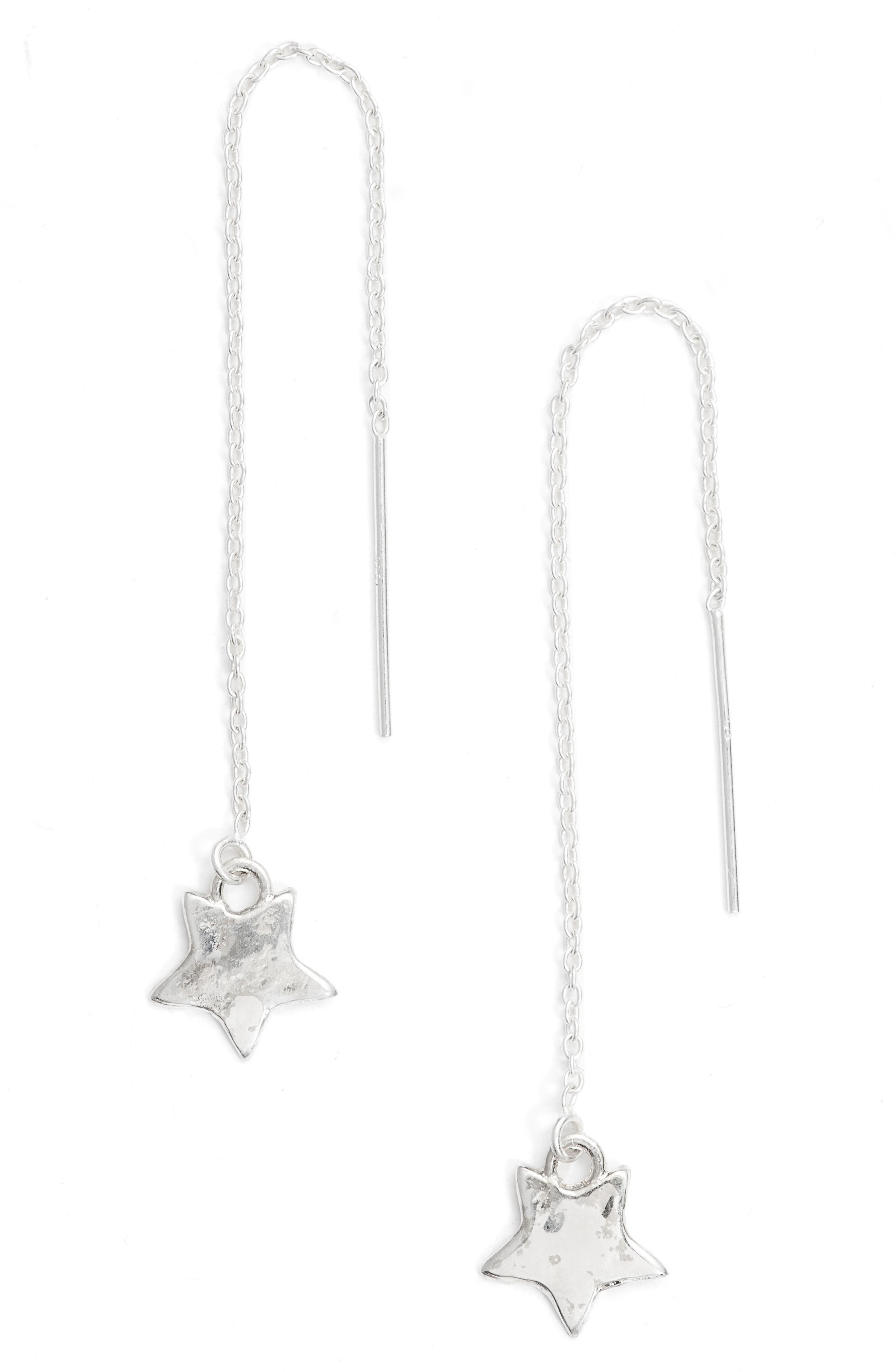 Star Drop Earrings,                         Main,                         color, 040