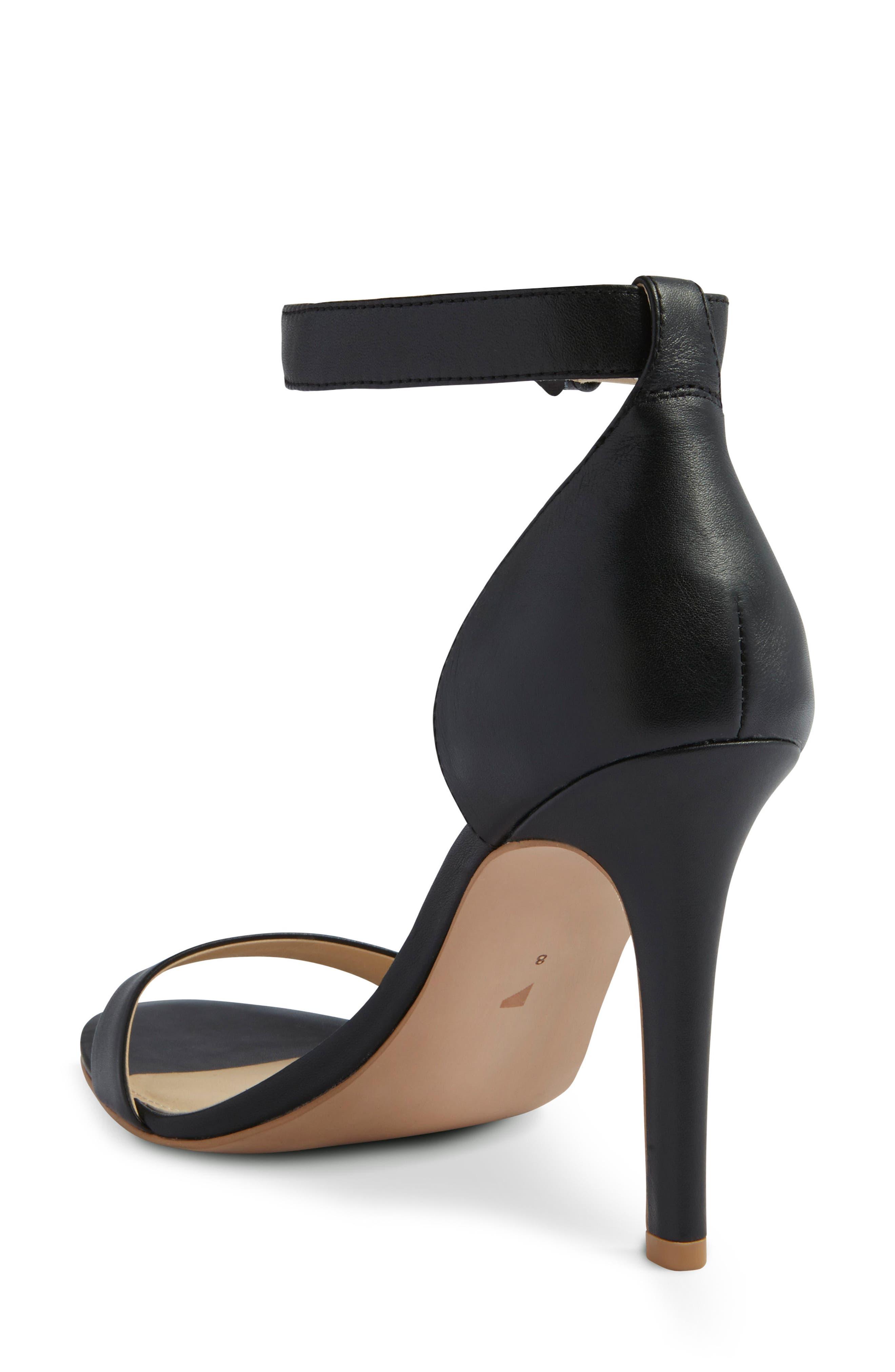 Ankle Strap Sandal,                             Alternate thumbnail 2, color,                             001
