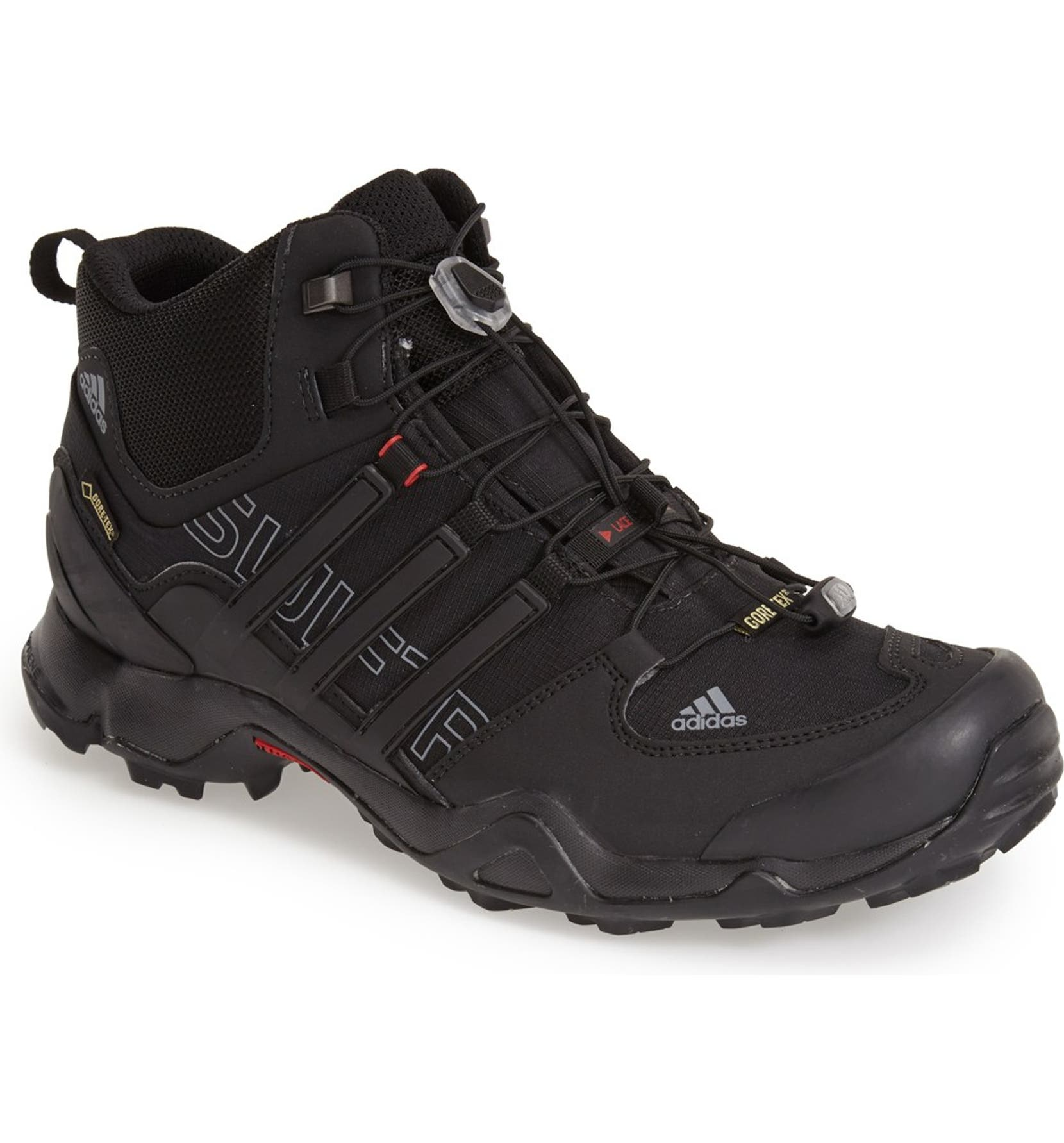 check out ddd5c cfa8e adidas  Terrex Swift R Mid GTX  Gore-Tex® Hiking Boot (Men)   Nordstrom