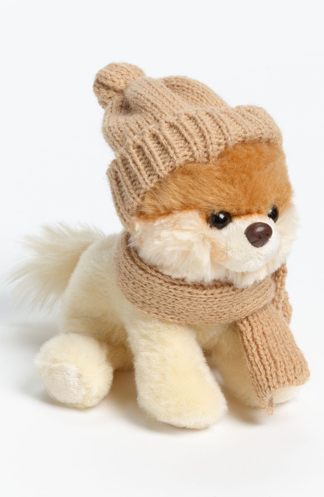 'Mini Boo' Hat & Scarf,                         Main,                         color, 000