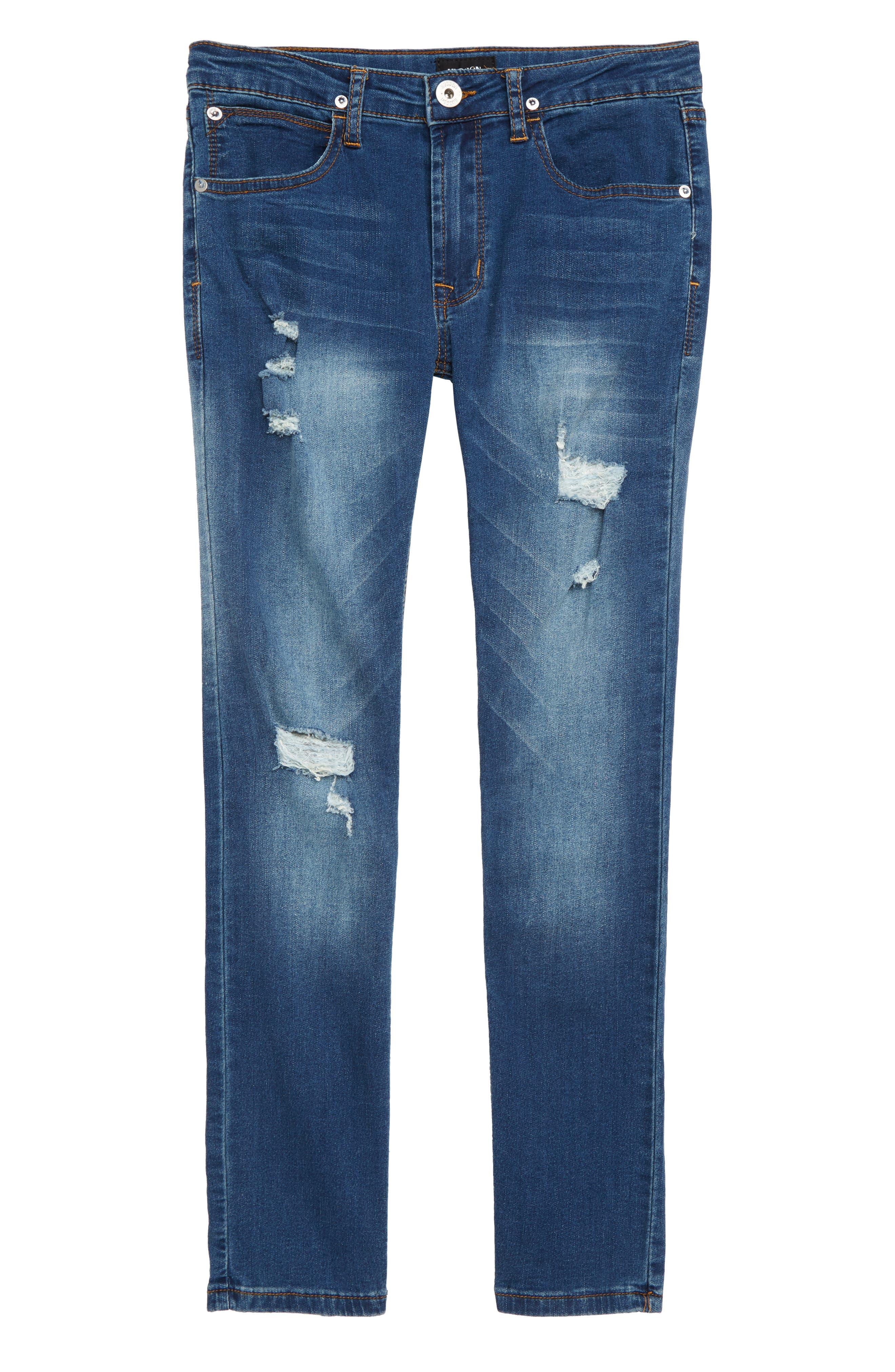 Jude Slim Fit Skinny Jeans,                             Main thumbnail 1, color,                             BLUE STEEL