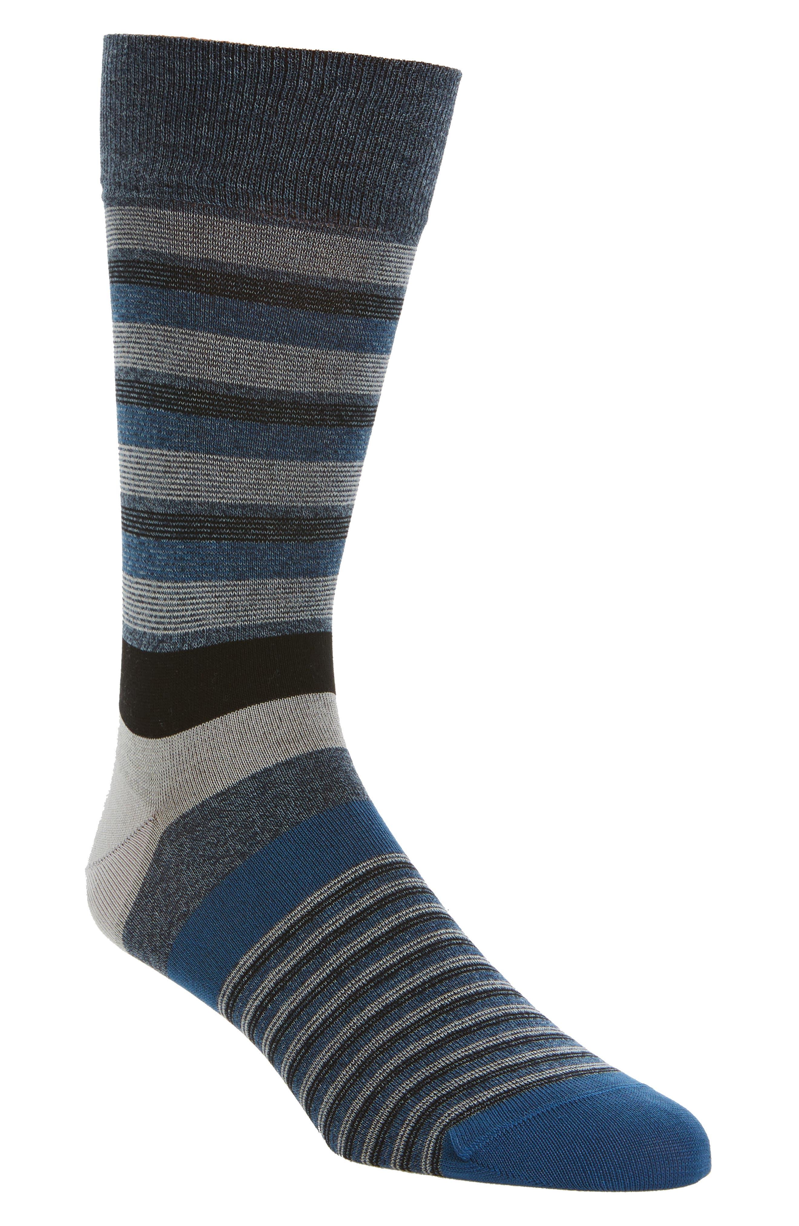 Stripe Socks,                             Main thumbnail 1, color,                             030