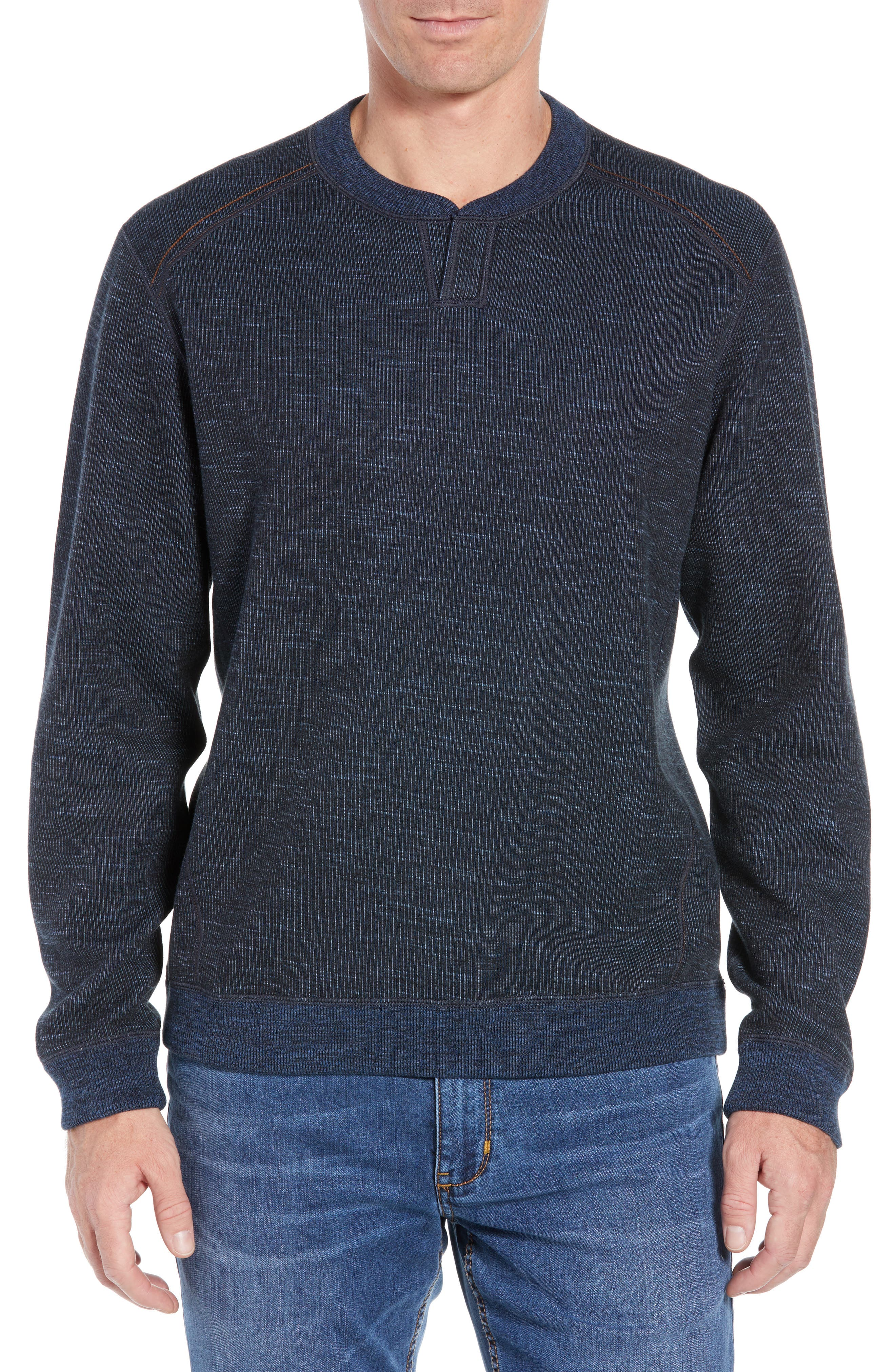 Flipsider Abaco Pullover,                         Main,                         color, JET BLACK