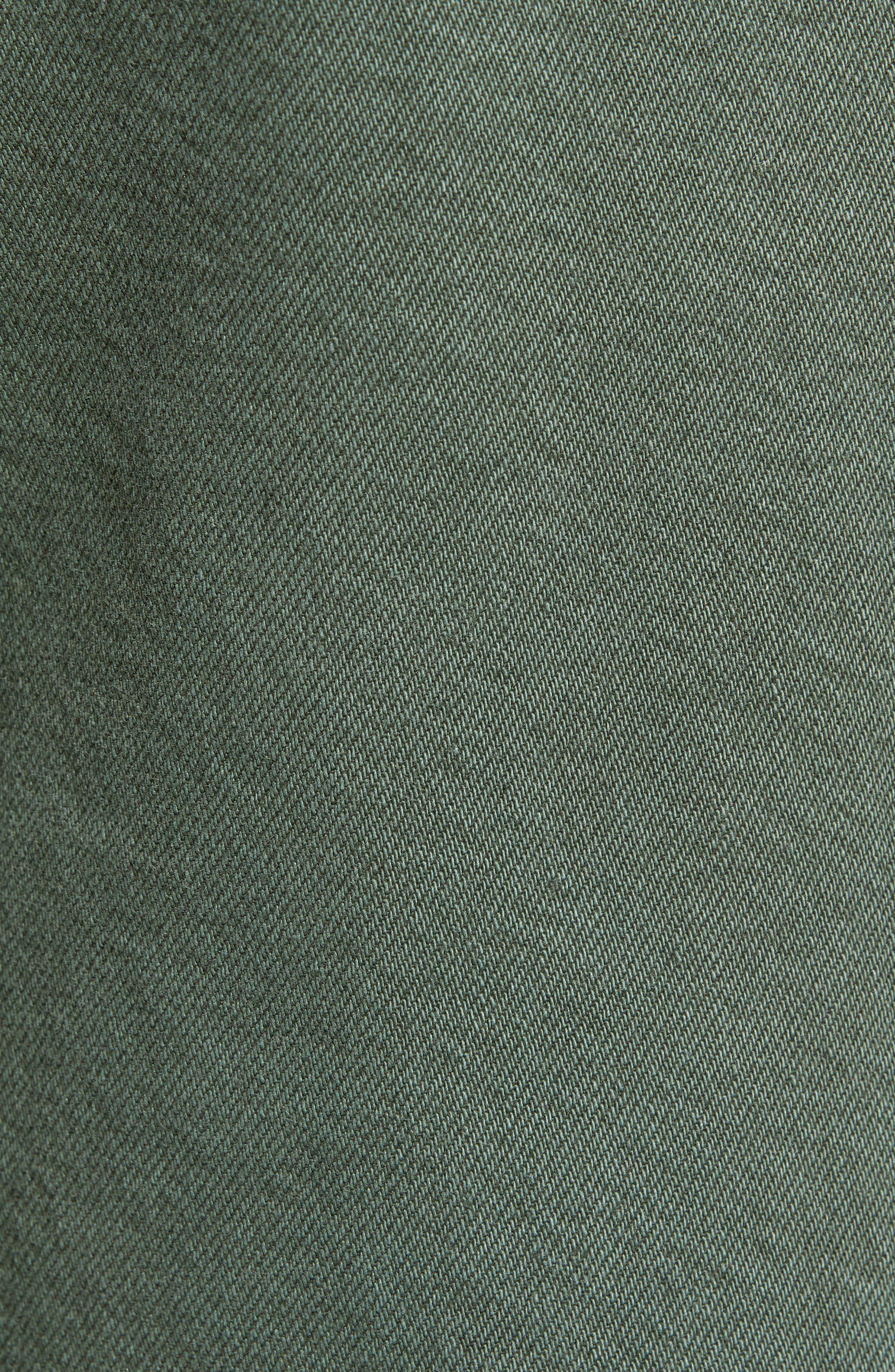 DL1961,                             Hepburn High Waist Crop Wide Leg Jeans,                             Alternate thumbnail 6, color,                             AMALFI