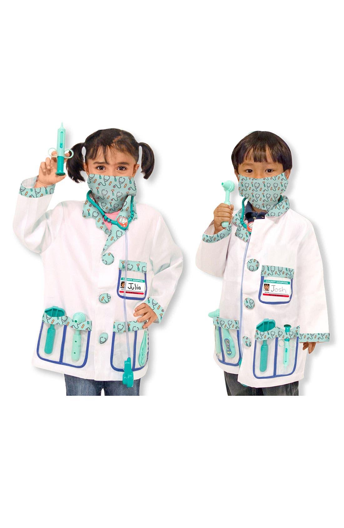 Toddler Melissa  Doug Doctor Costume
