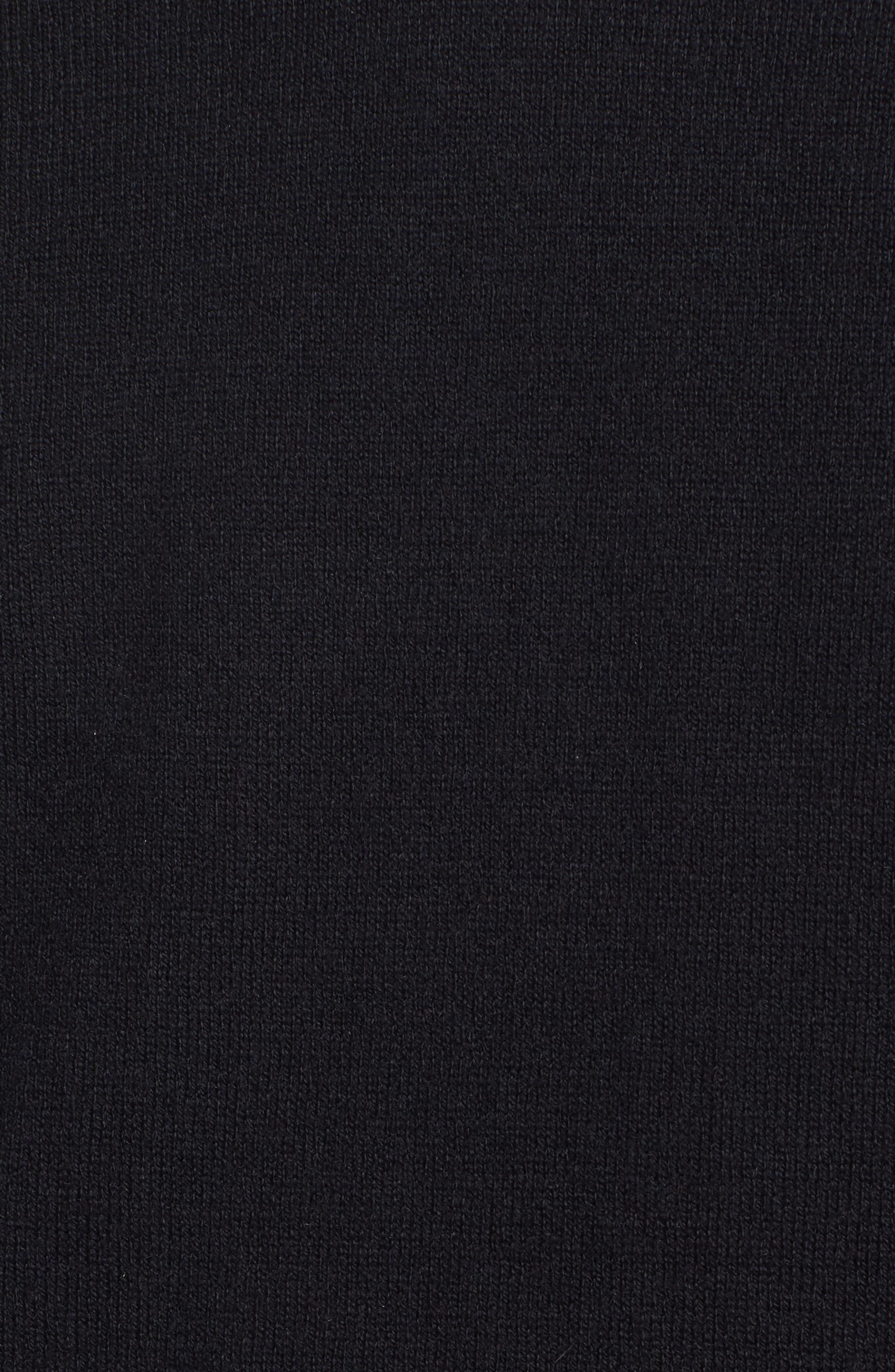 Saddle Shoulder Cotton & Cashmere V-Neck Sweater,                             Alternate thumbnail 33, color,