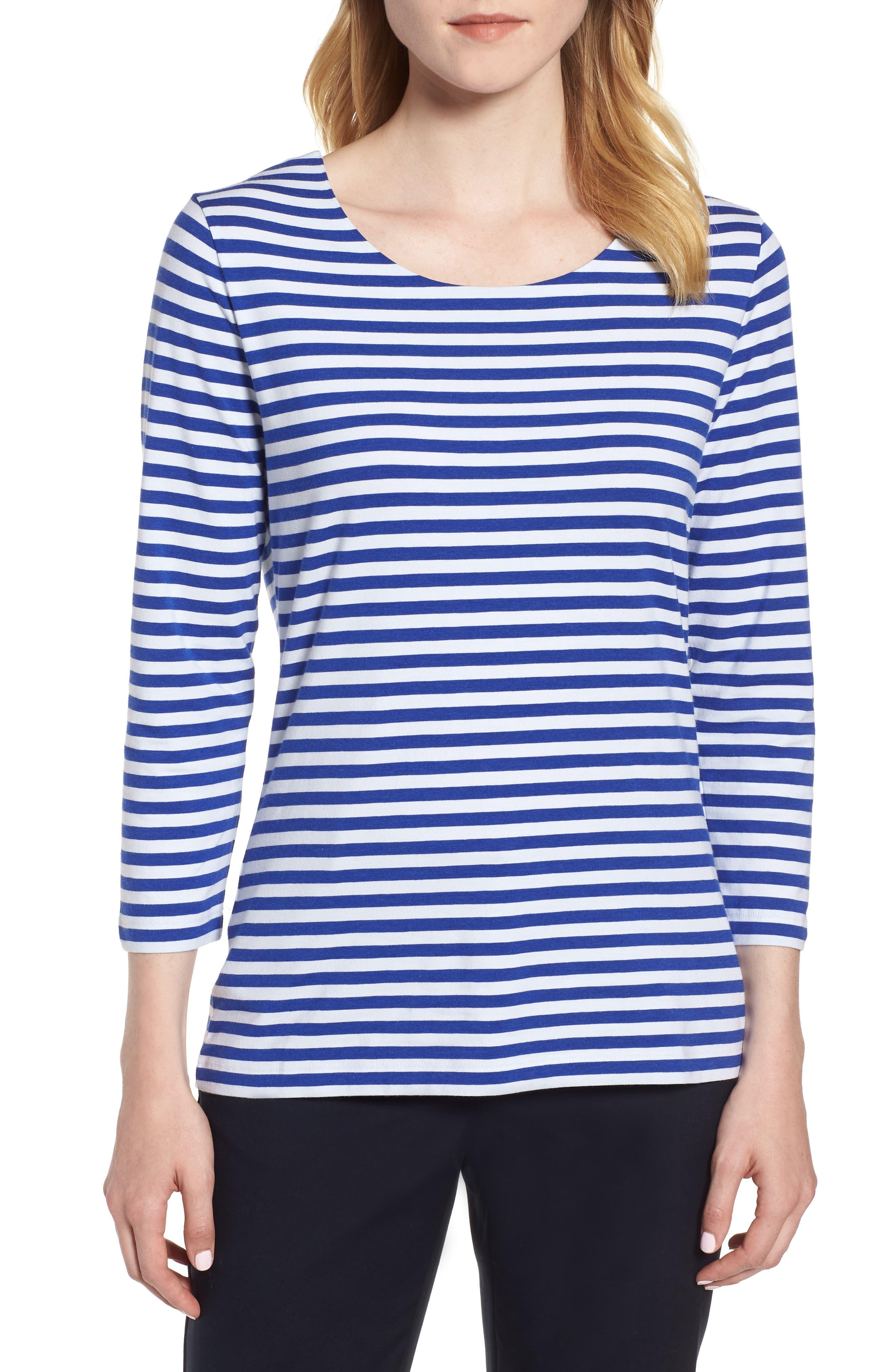 Emmisana Stripe Top,                         Main,                         color, 467