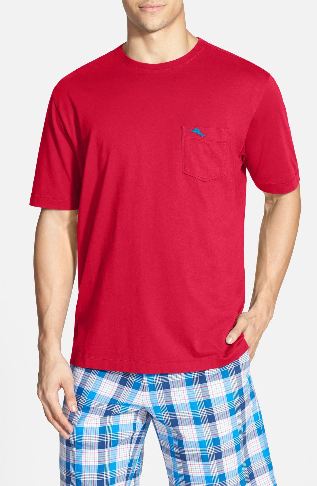 New Bali Sky Pima Cotton Pocket T-Shirt,                             Main thumbnail 47, color,