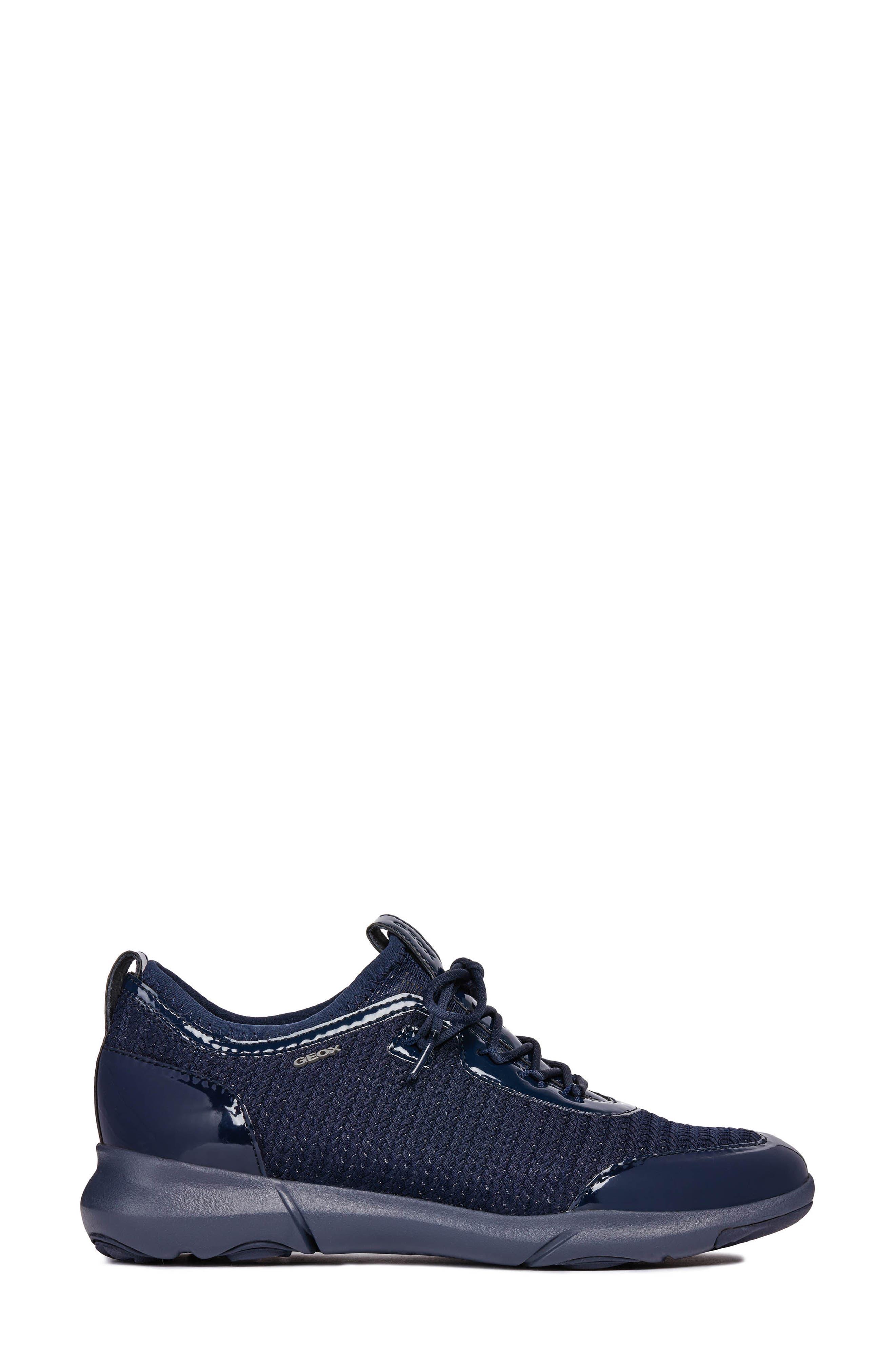 Nebula X Sneaker,                             Alternate thumbnail 3, color,                             NAVY FABRIC