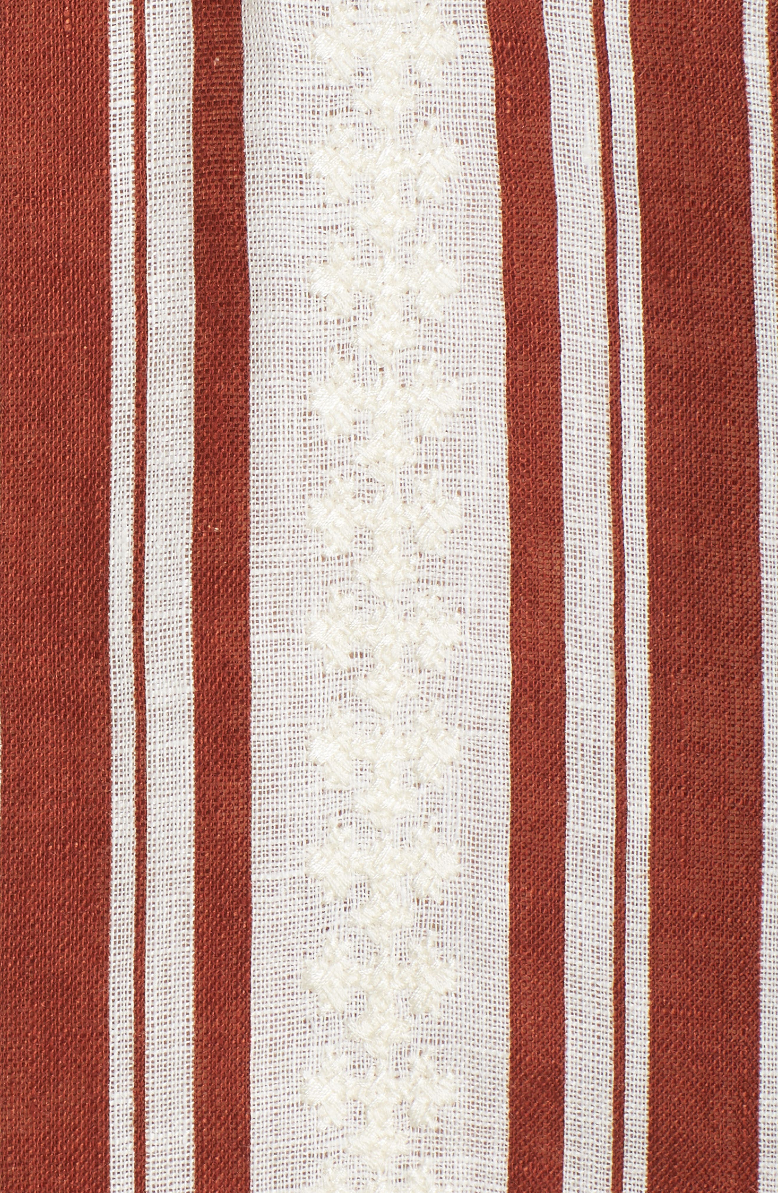 Alcott Beach Linen Cover-Up Caftan,                             Alternate thumbnail 5, color,                             900