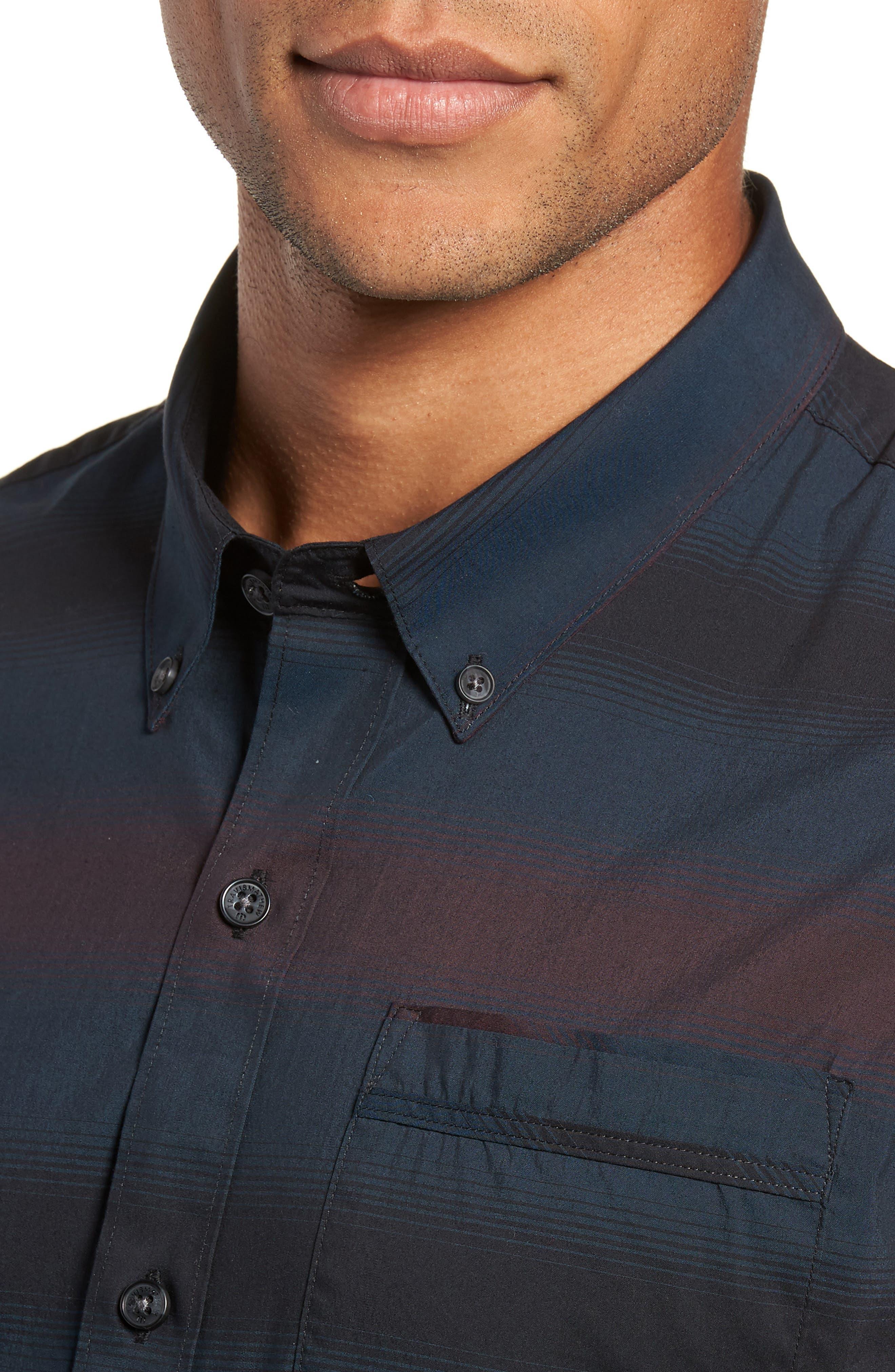 Magic Castle Regular Fit Sport Shirt,                             Alternate thumbnail 2, color,                             BLUE WING TEAL