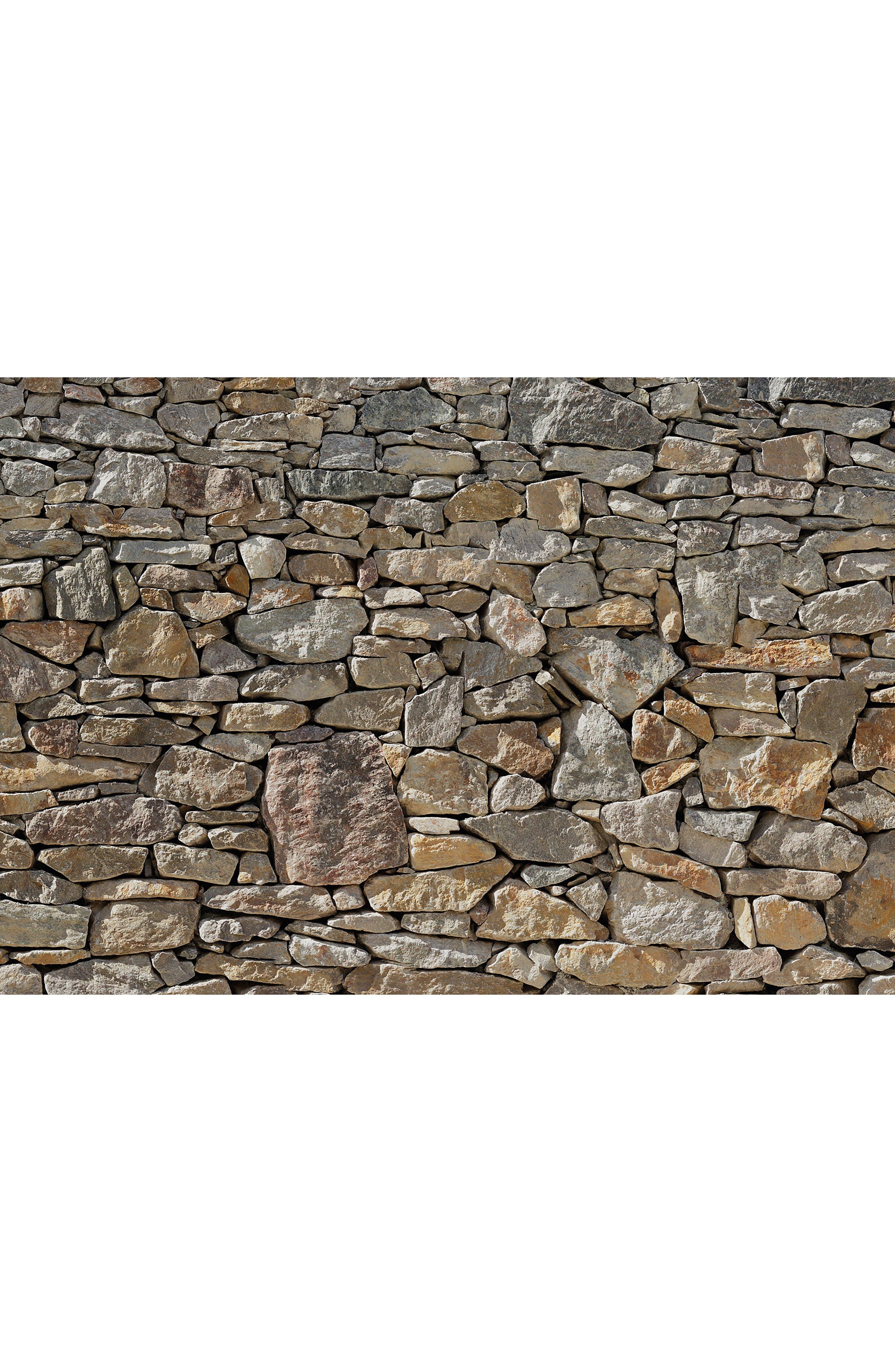 Stone Wall Mural,                             Alternate thumbnail 3, color,                             200