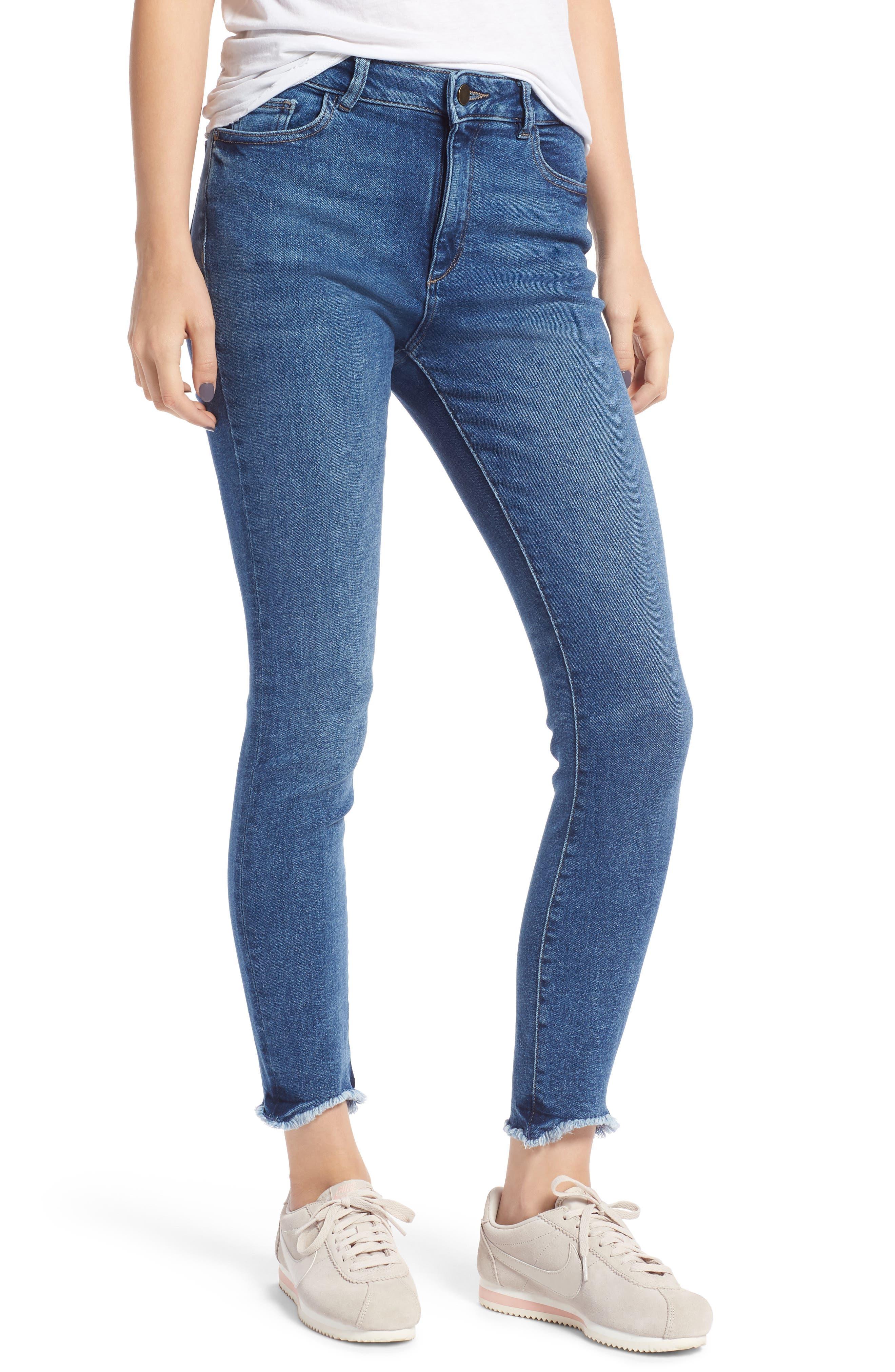 Farrow High Waist Skinny Jeans,                         Main,                         color, 422