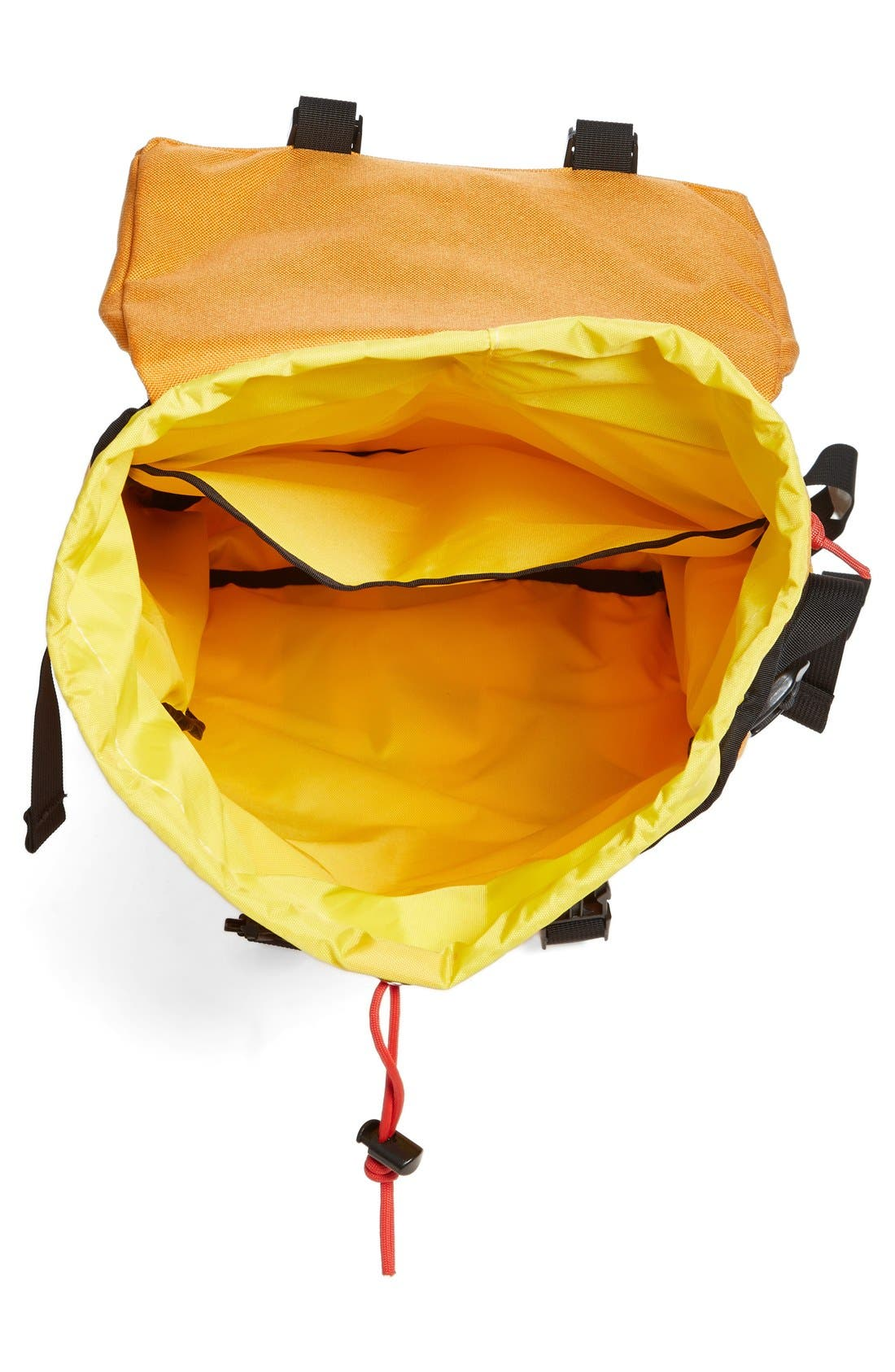 'Klettersack' Backpack,                             Alternate thumbnail 4, color,                             SAFFRON
