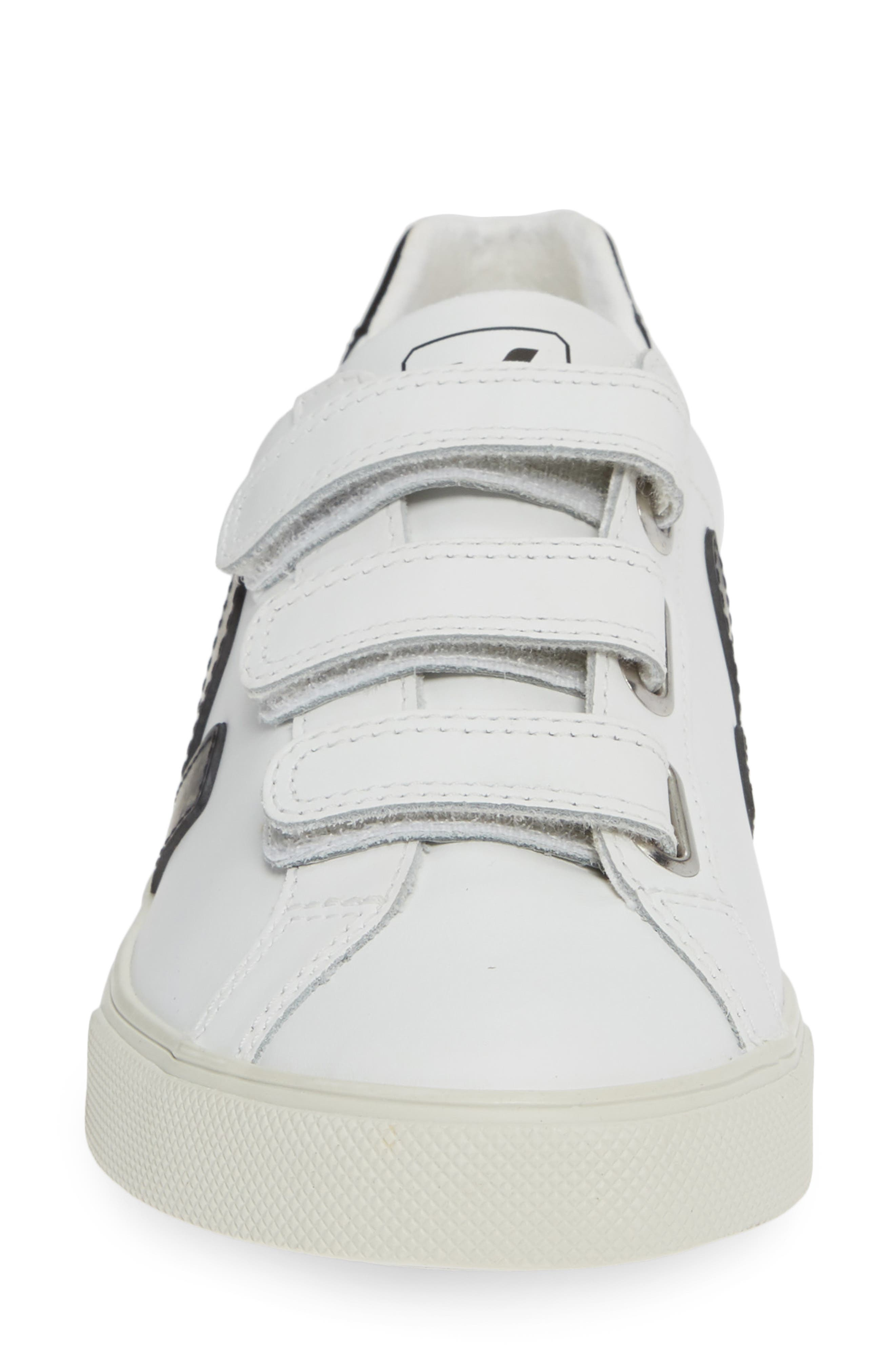 Espalar 3-Lock Sneaker,                             Alternate thumbnail 4, color,                             EXTRA WHITE BLACK
