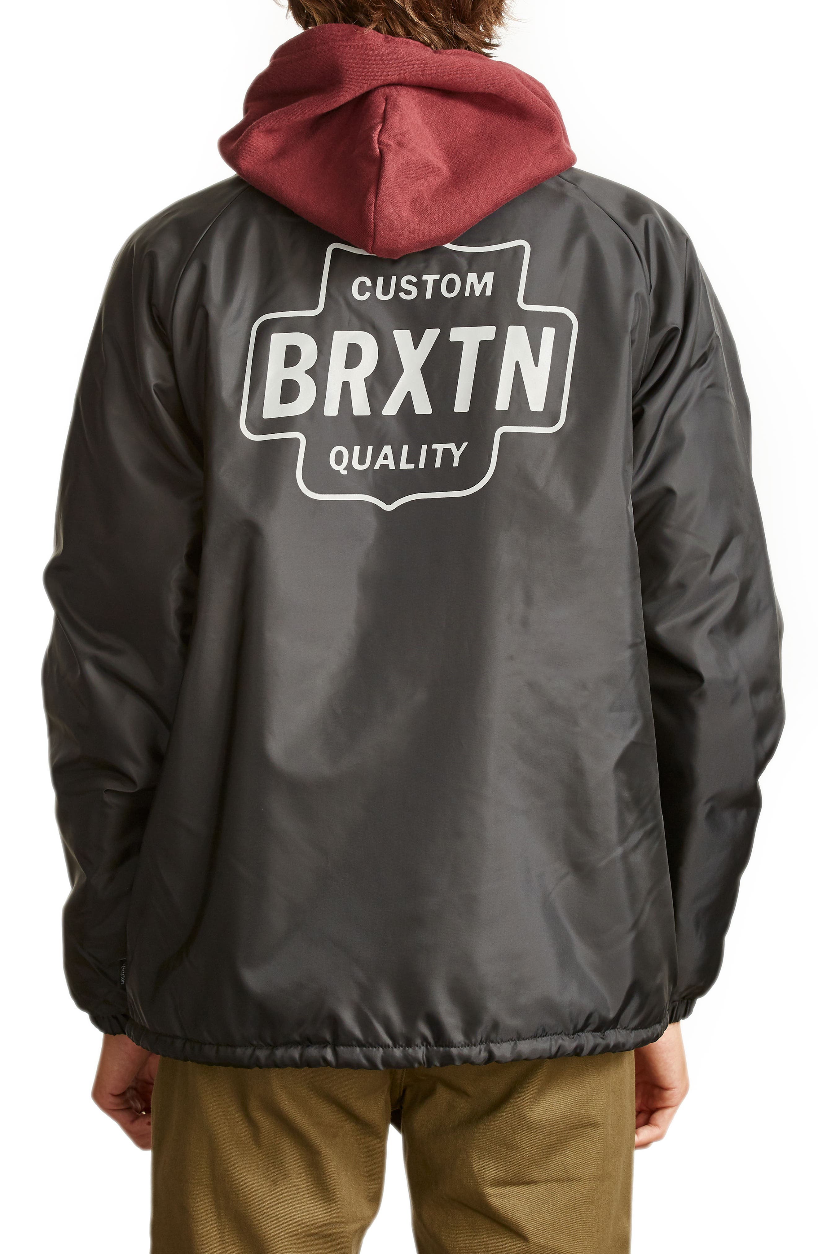 Garth Water Resistant Coach's Jacket,                             Alternate thumbnail 2, color,                             005