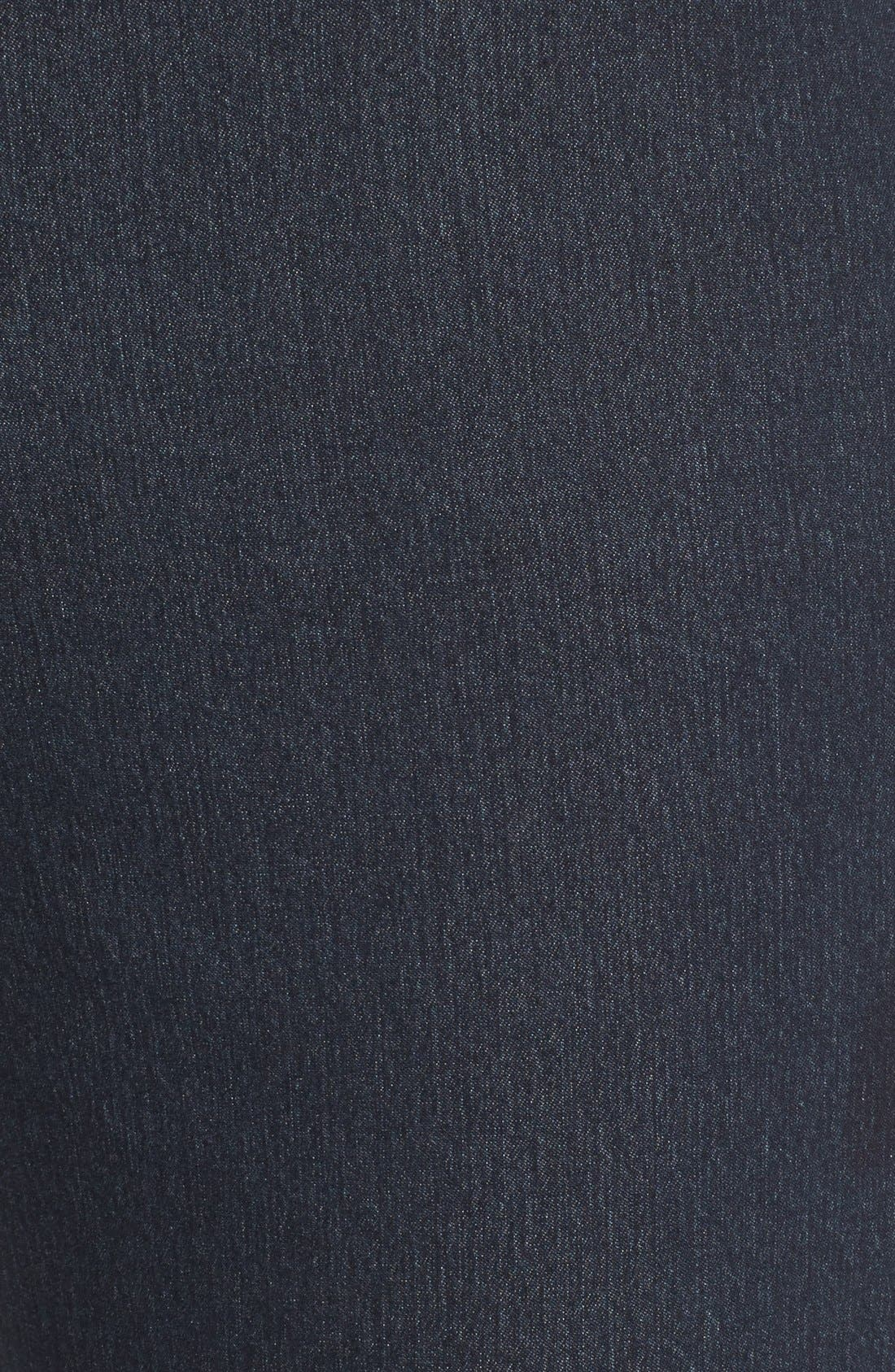 'Primo Denim' Curvy Fit Slim Leg Jeans,                             Alternate thumbnail 6, color,                             INDIGO