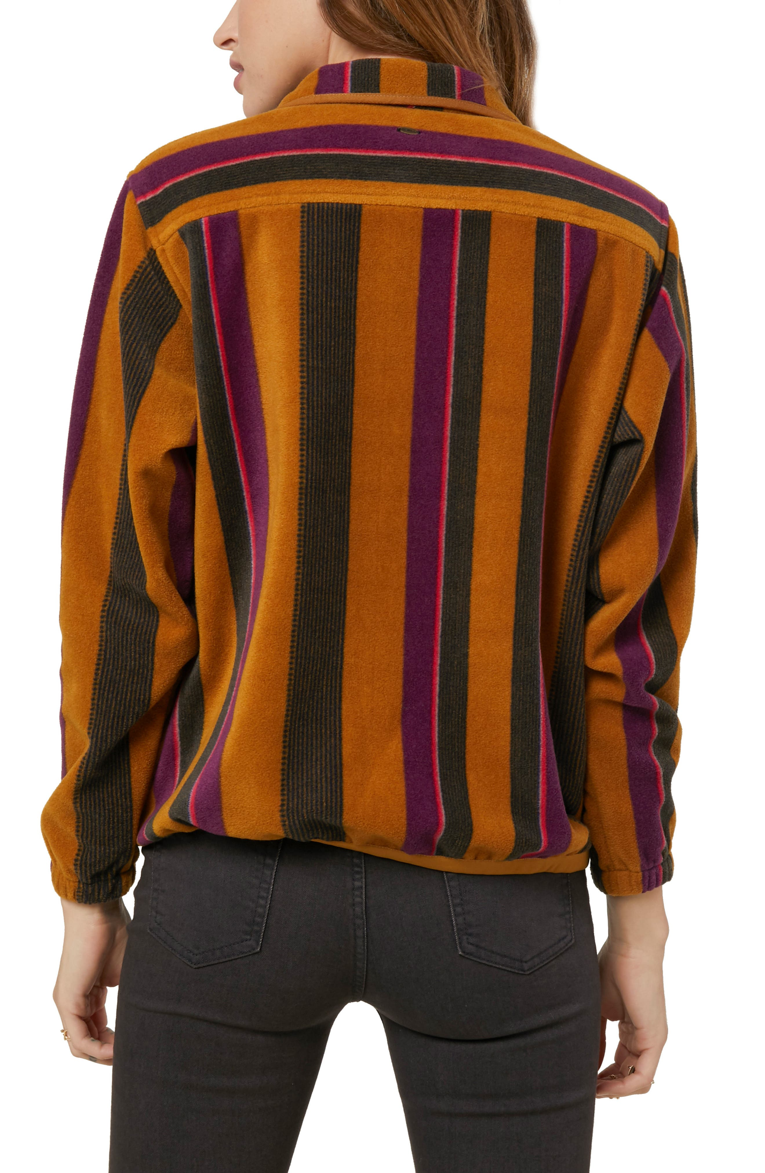 Crescent Line Fleece Pullover,                             Alternate thumbnail 2, color,                             200