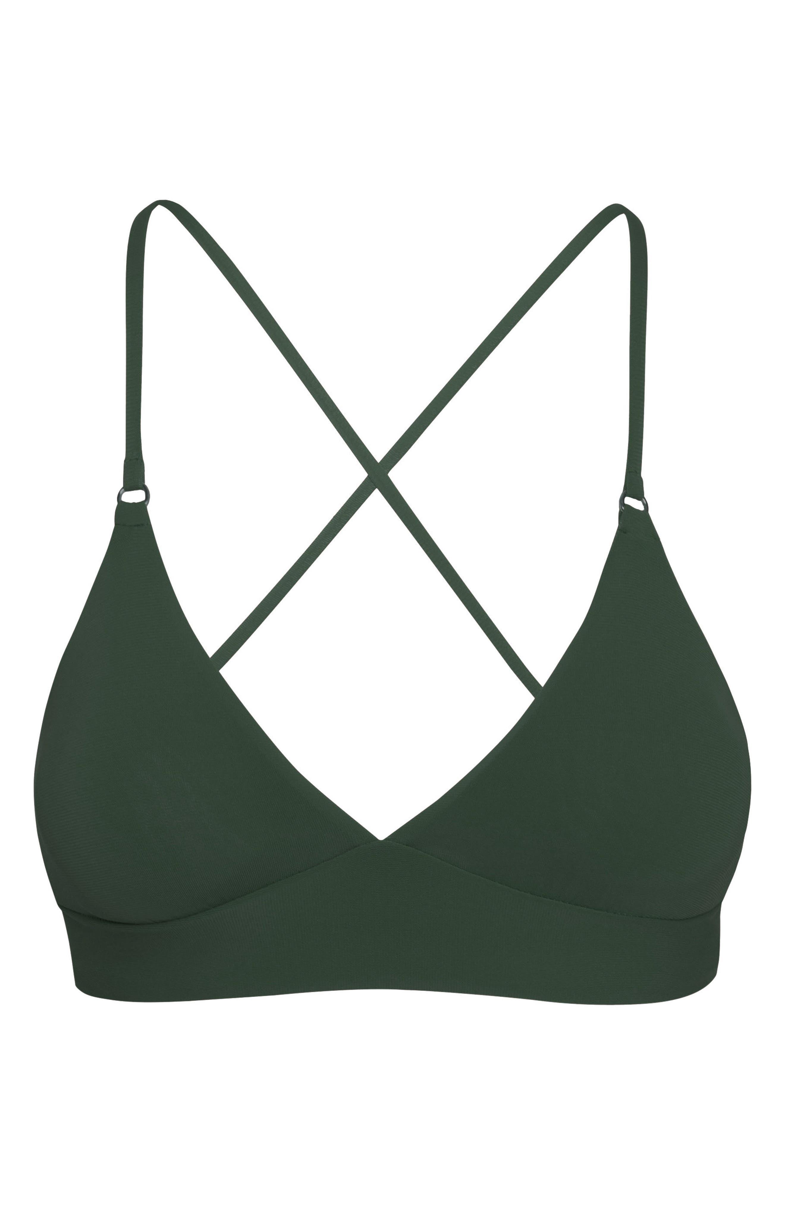Ava Triangle Bikini Top,                             Alternate thumbnail 3, color,                             305