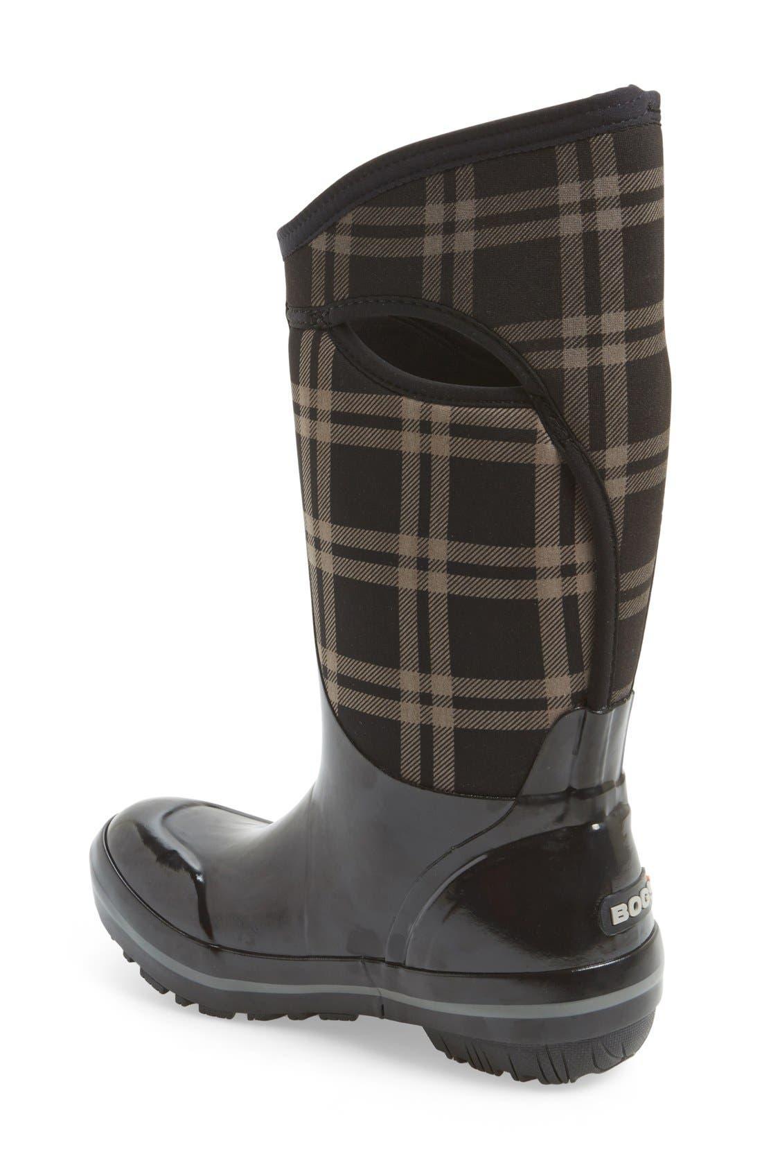 'Plimsoll' Waterproof Boot,                             Alternate thumbnail 2, color,                             001