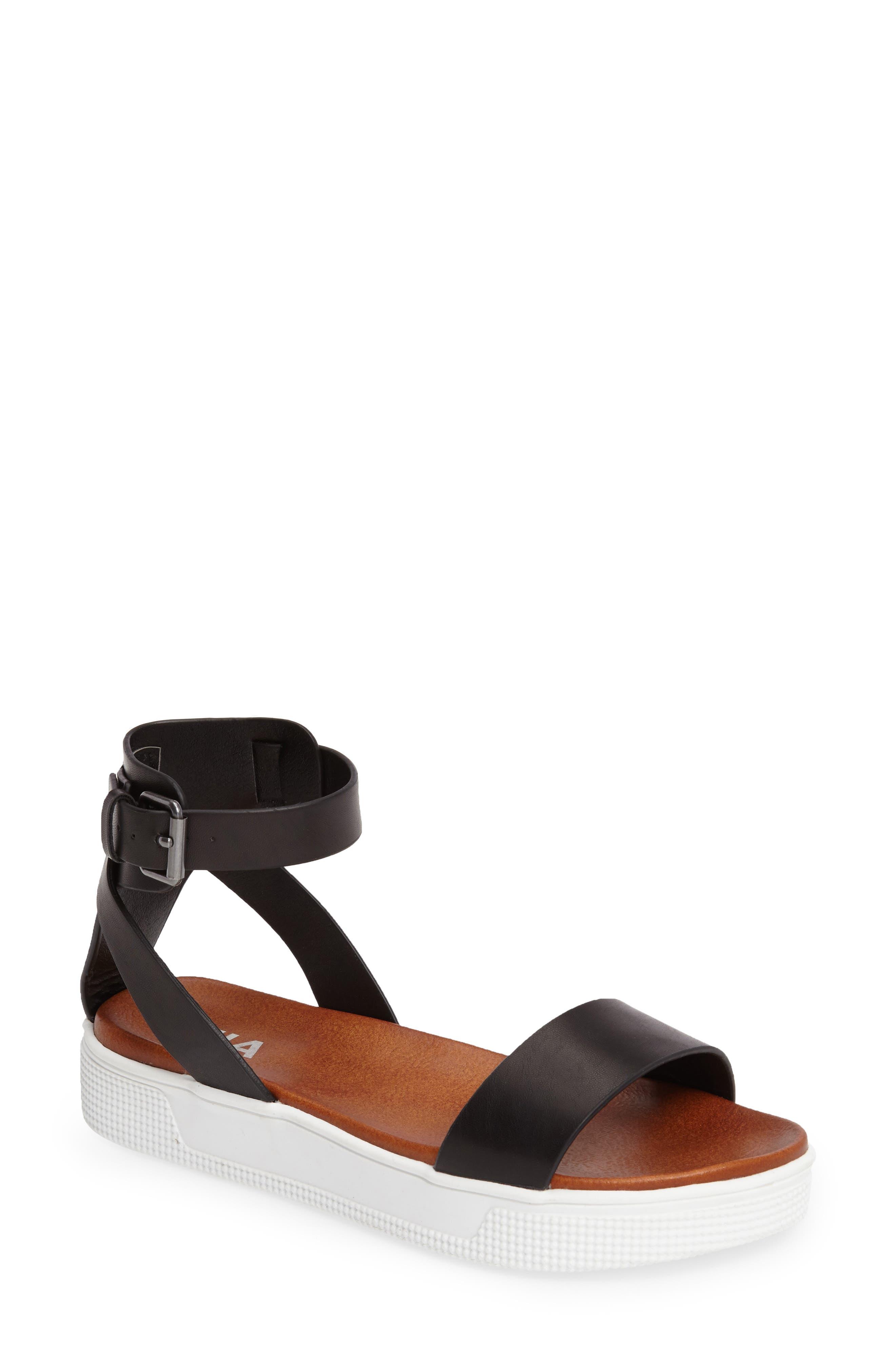 Platform Sandal,                             Main thumbnail 1, color,                             001