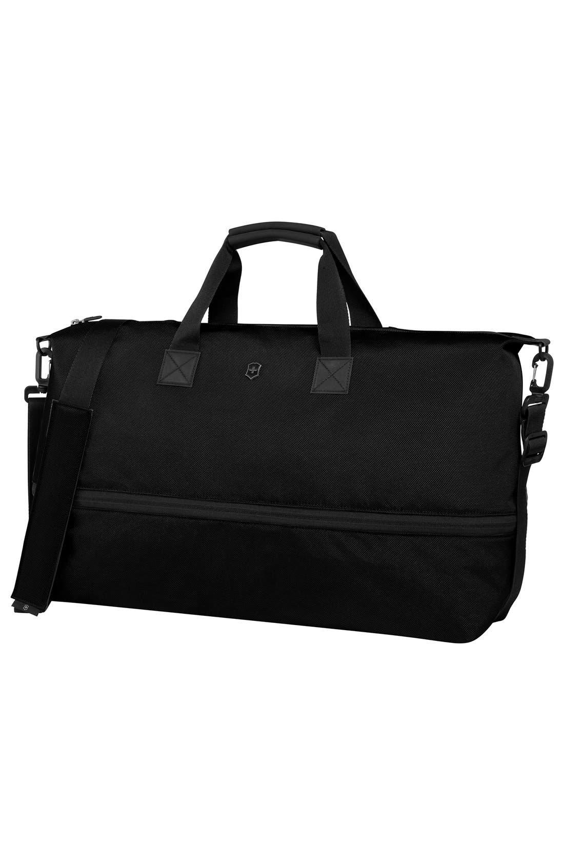 XL Duffel Bag,                         Main,                         color, BLACK