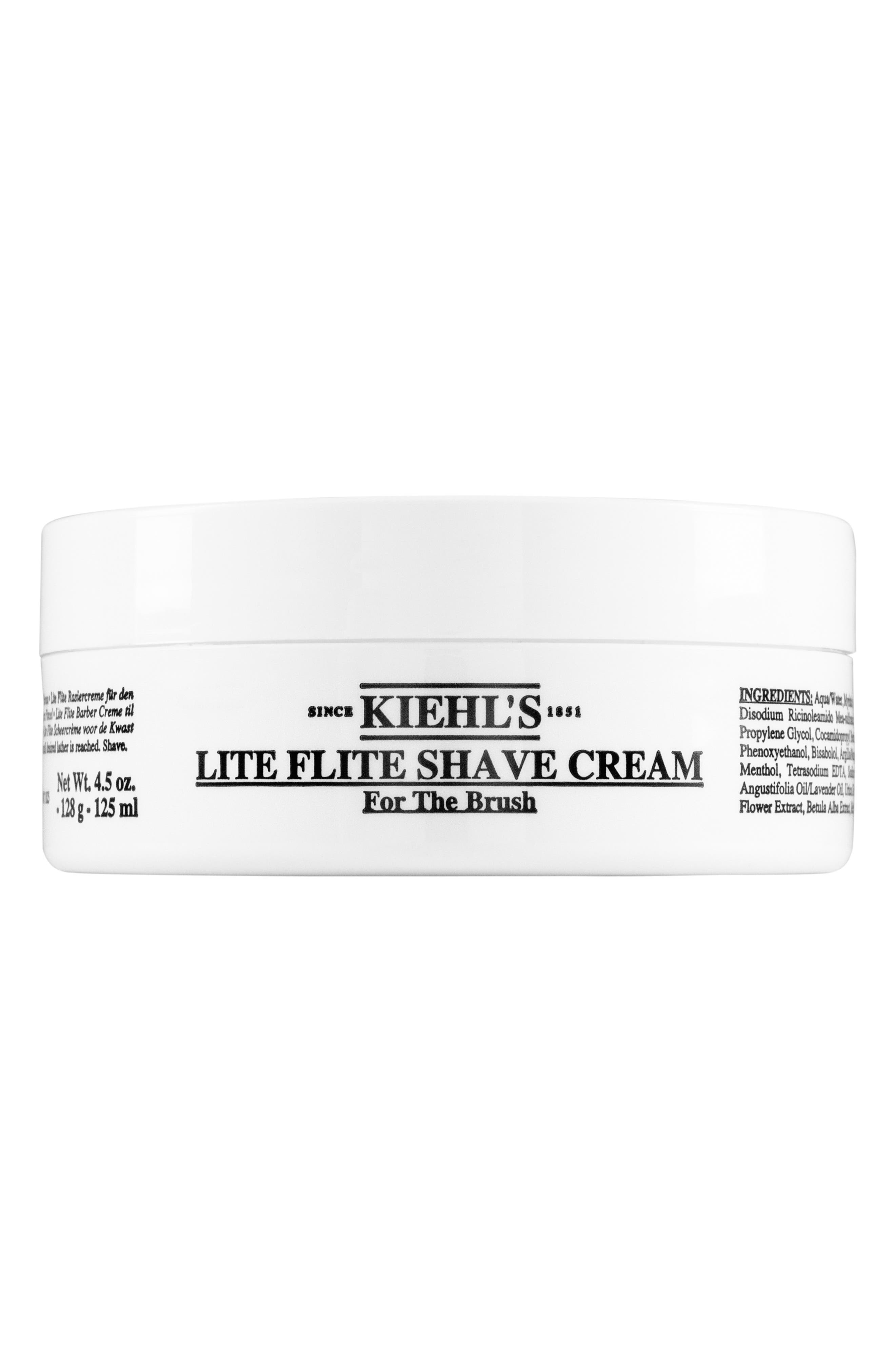 Lite Flite Shave Cream,                             Alternate thumbnail 3, color,                             000