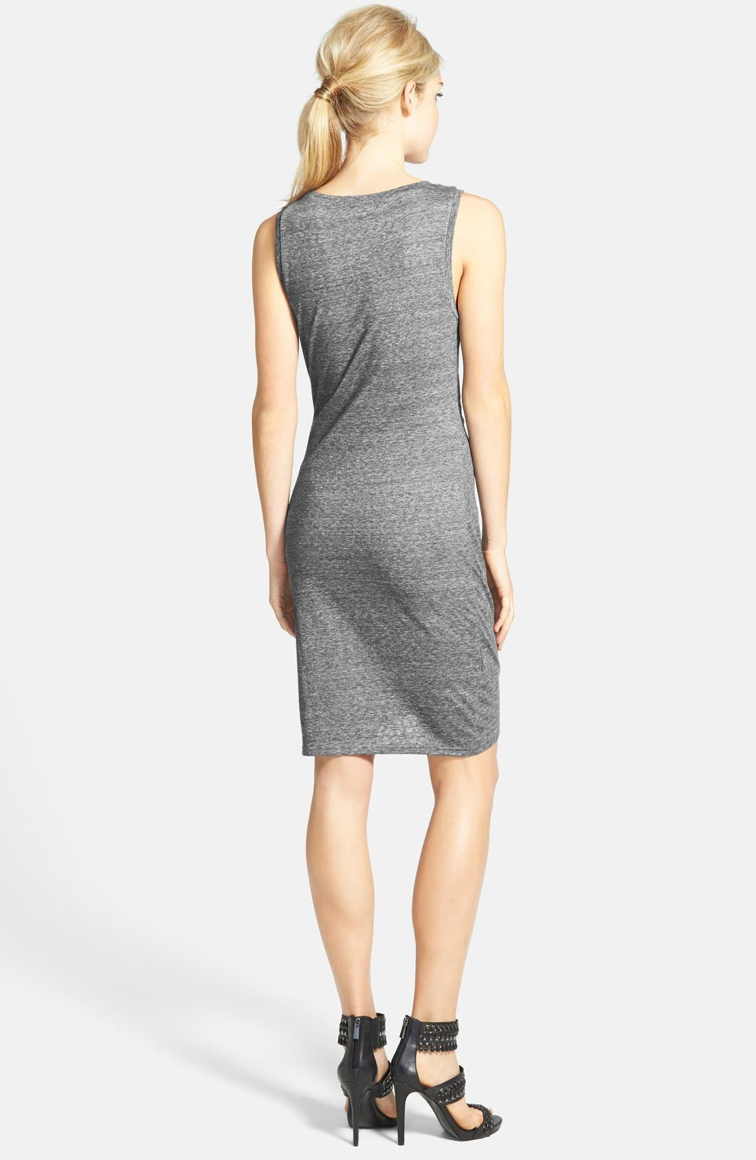 Ruched Body-Con Tank Dress,                             Alternate thumbnail 91, color,