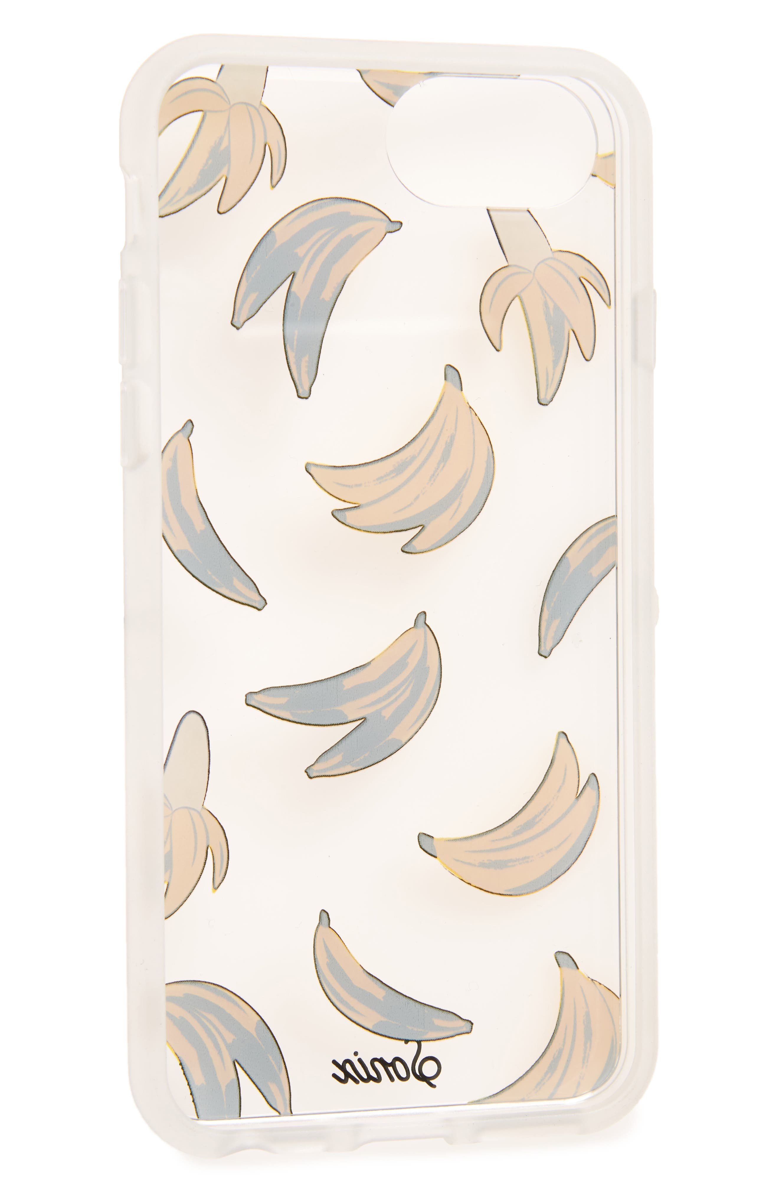 Banana Babe iPhone 6/6s/7/8 & 6/6s/7/8 Plus Case,                             Alternate thumbnail 2, color,                             700